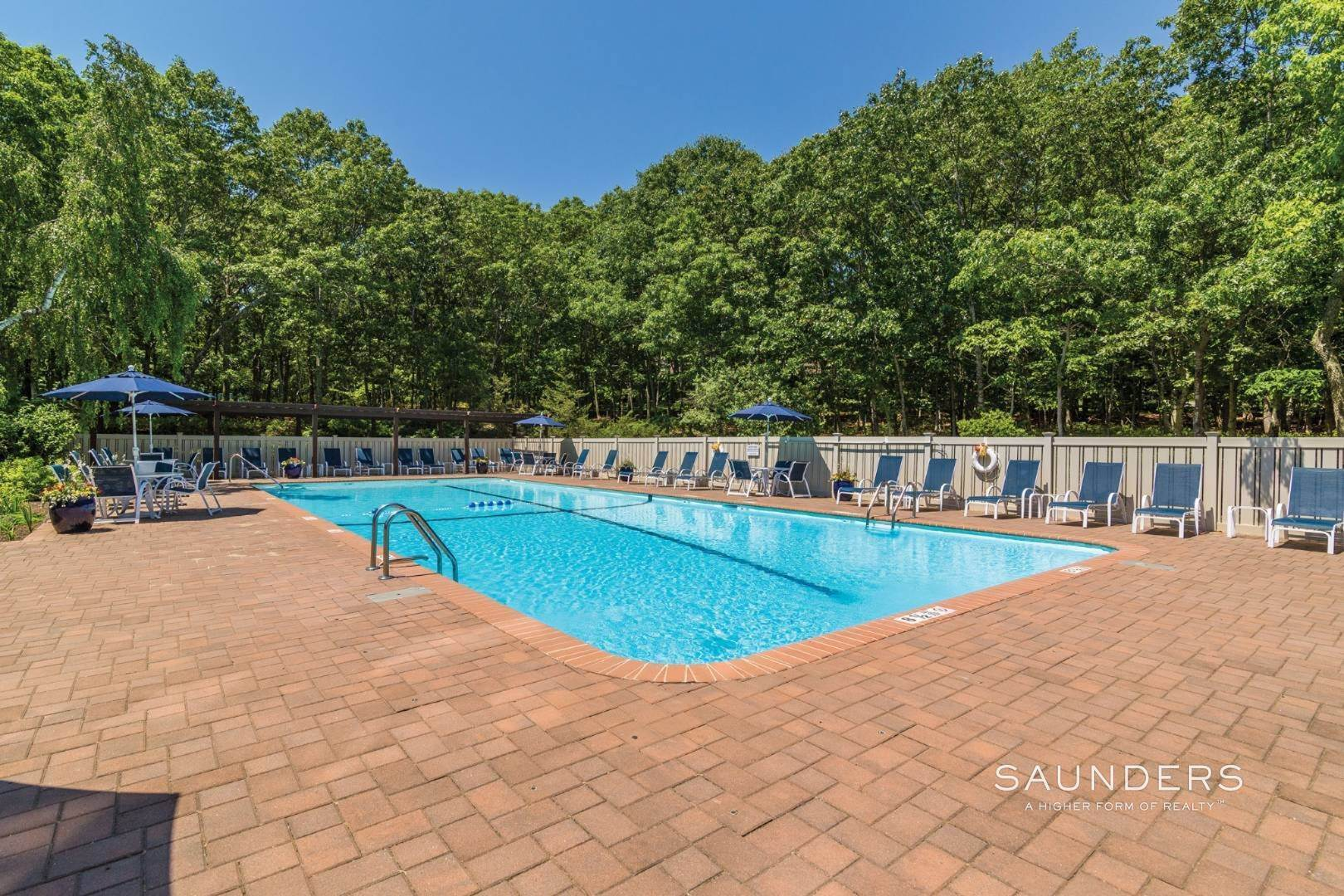 2. Single Family Homes at Easy Living In A Large Treescape Condo With Tennis 202 Treescape Drive, Cluster 5, Unit 13d, East Hampton, East Hampton Town, NY 11937