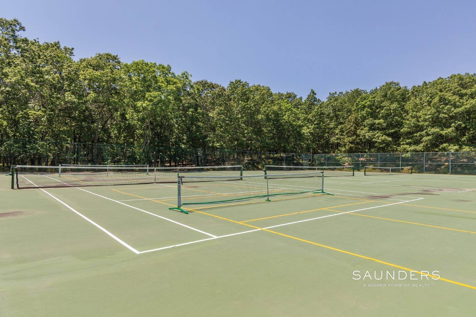 15. Single Family Homes at Easy Living In A Large Treescape Condo With Tennis 202 Treescape Drive, Cluster 5, Unit 13d, East Hampton, East Hampton Town, NY 11937