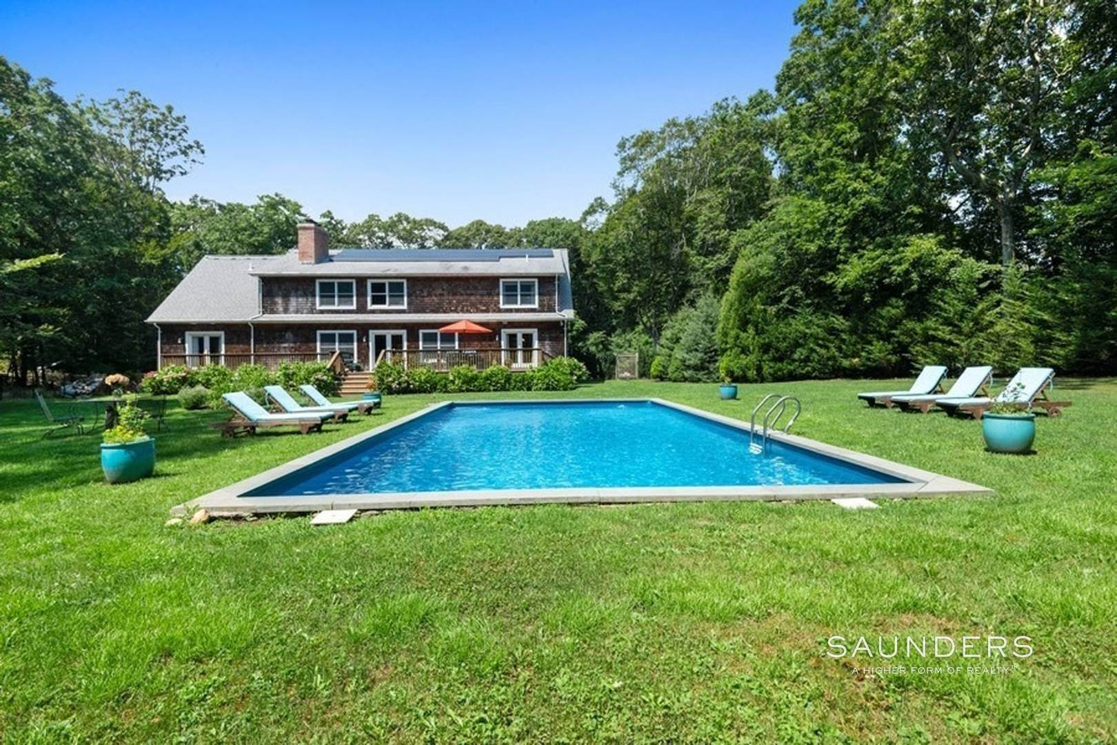 Single Family Homes at New And Bright Summer Home Southampton, Southampton Town, NY 11968