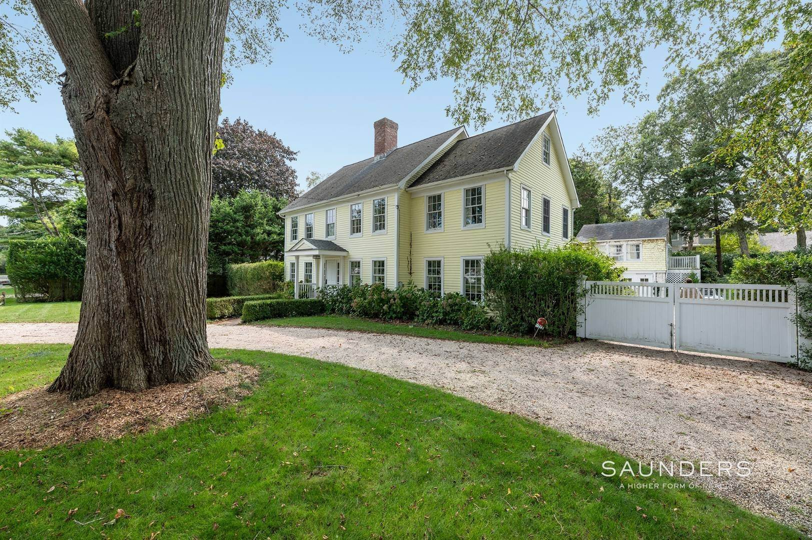 Single Family Homes for Sale at East Hampton Village Traditional South Of The Highway 21 Buckskill Road, East Hampton, East Hampton Town, NY 11937