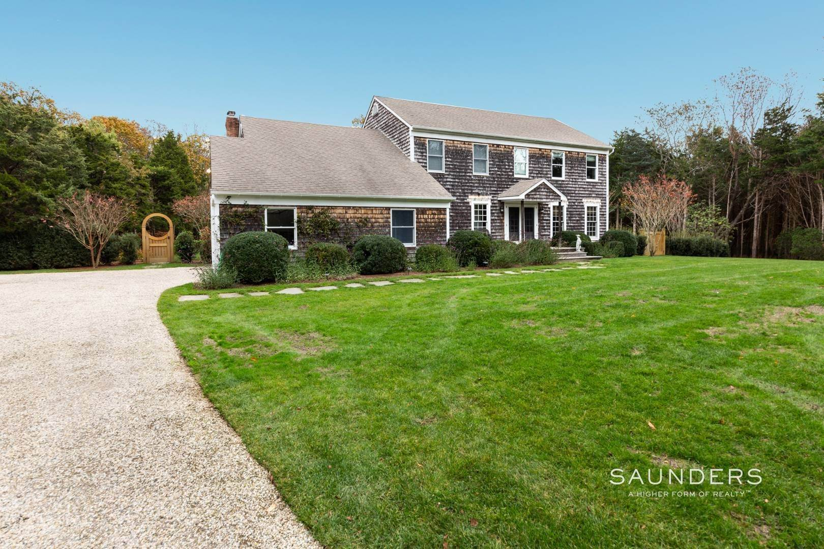 Single Family Homes at North Haven On Quiet Cul De Sac With 20'X50' Heated Gunite Pool Sag Harbor, Southampton Town, NY 11963