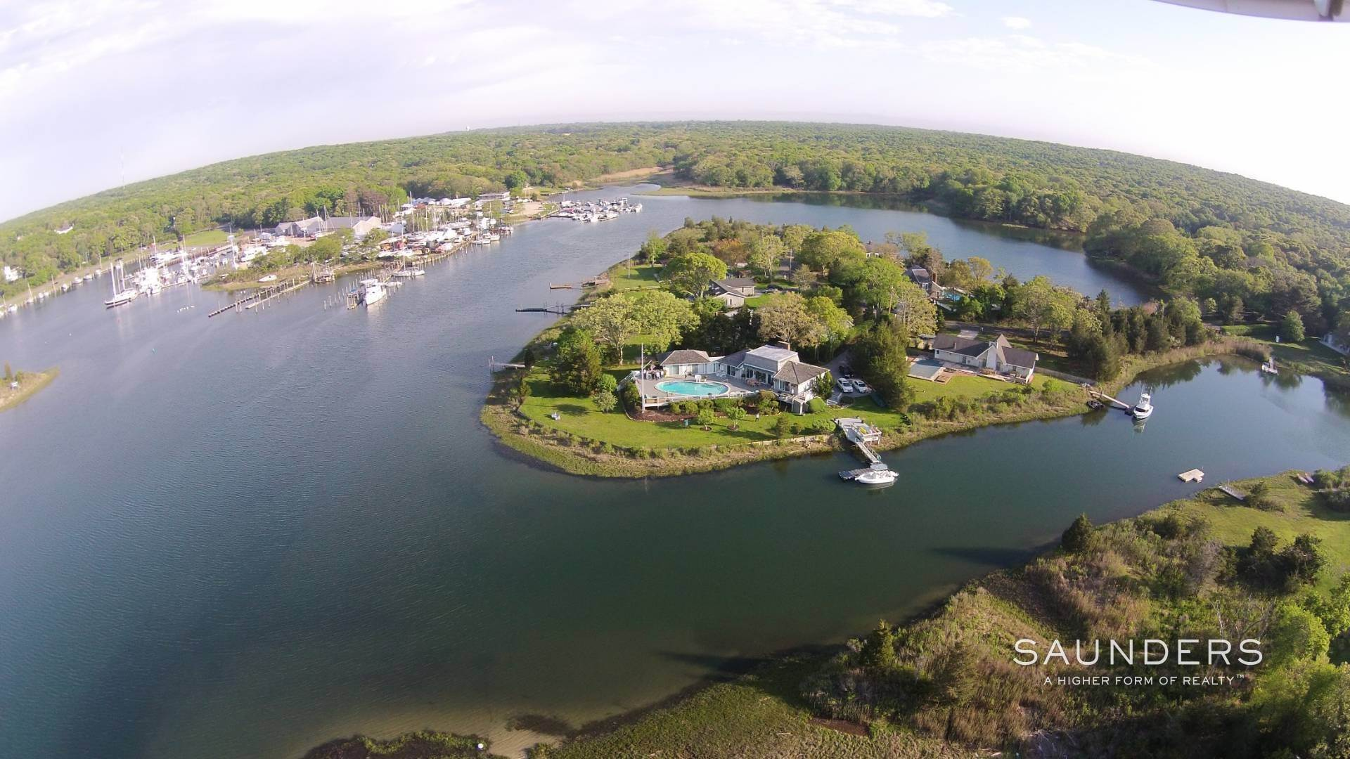 Single Family Homes at Glorious East Hampton Waterfront Home Rental 5 South Pond Road, East Hampton, East Hampton Town, NY 11937