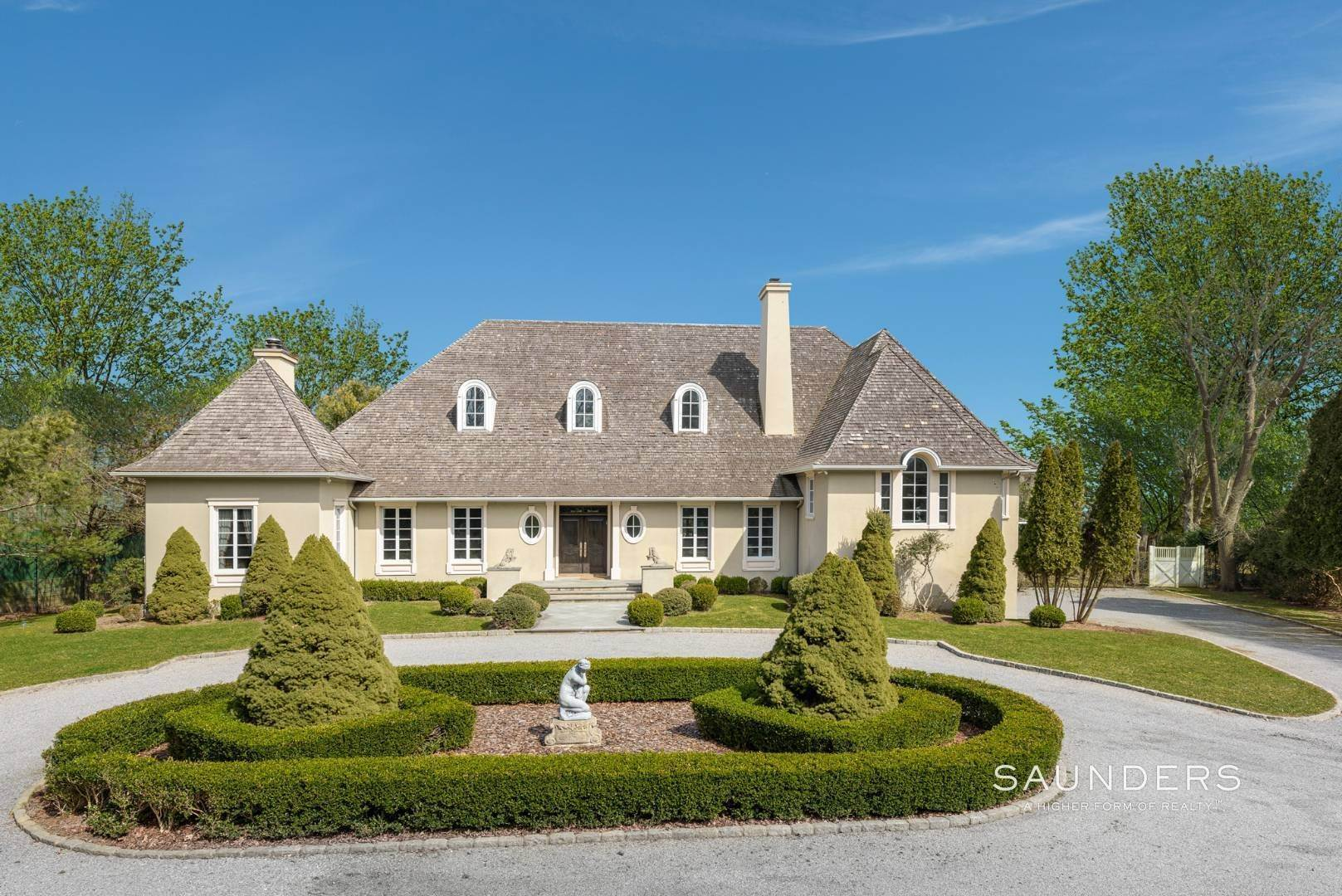 Single Family Homes for Sale at French Masterpiece On Hither Lane East Hampton, East Hampton Town, NY 11937