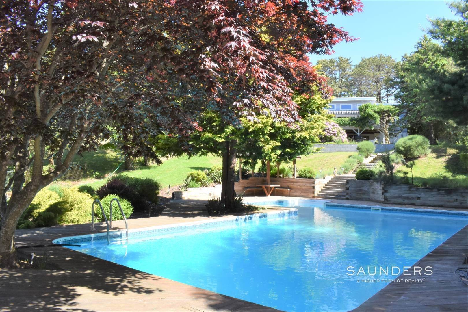 Single Family Homes for Sale at Southampton Hamptons Retreat With Heated Pool Southampton, Southampton Town, NY 11968