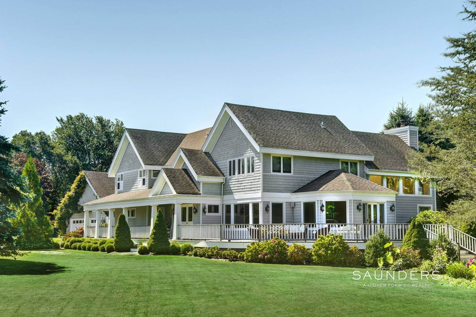 Single Family Homes at South Of The Highway Gem Water Mill, Southampton Town, NY 11976