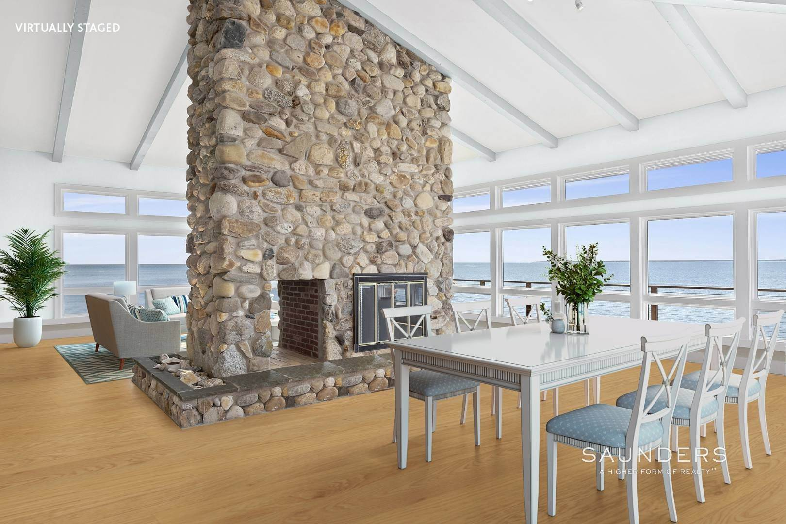 11. Single Family Homes for Sale at Shelter Island Mid Century Modern Beach House With Pool Shelter Island Heights, Shelter Island, NY 11964