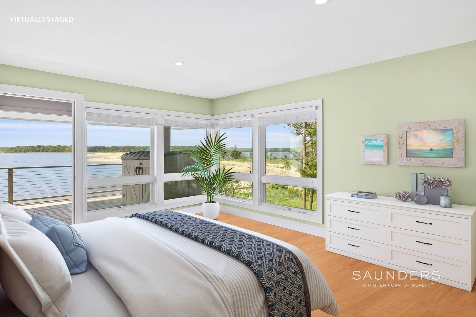 18. Single Family Homes for Sale at Shelter Island Mid Century Modern Beach House With Pool Shelter Island Heights, Shelter Island, NY 11964