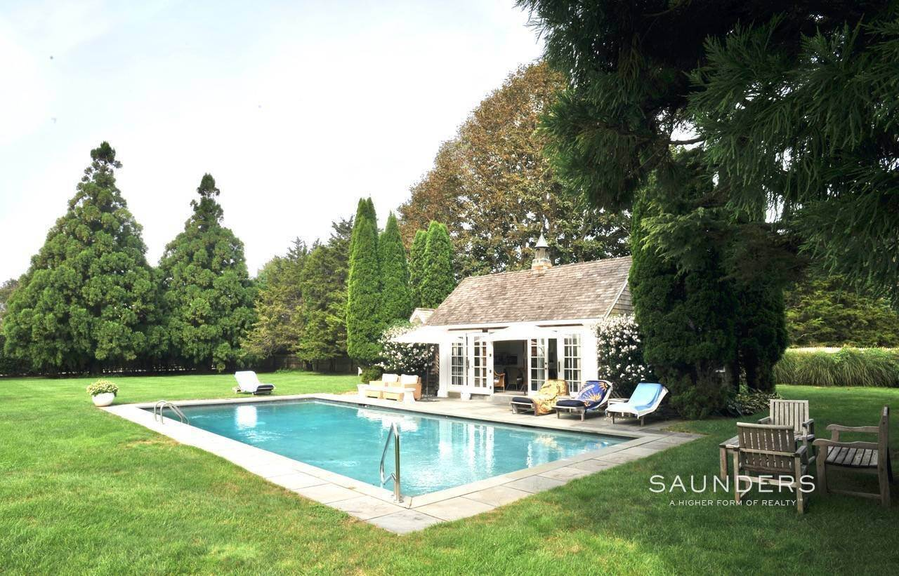 34. Single Family Homes at Picturesque Hedges Lane Summer Rental Undisclosed Address, Sagaponack Village, Southampton Town, NY 11962