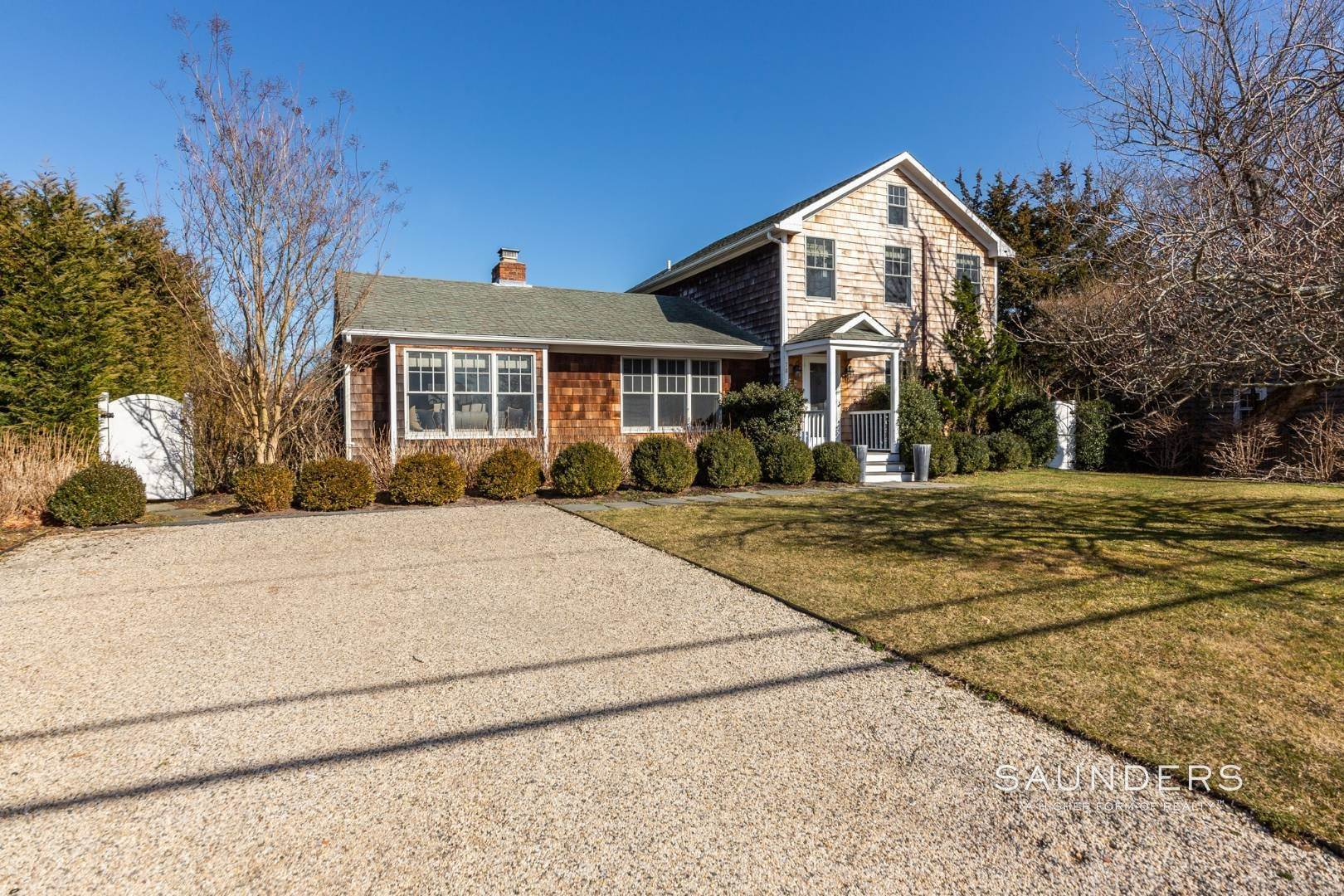 Single Family Homes at Sag Harbor Village Cottage Complete! Sag Harbor, Southampton Town, NY 11963
