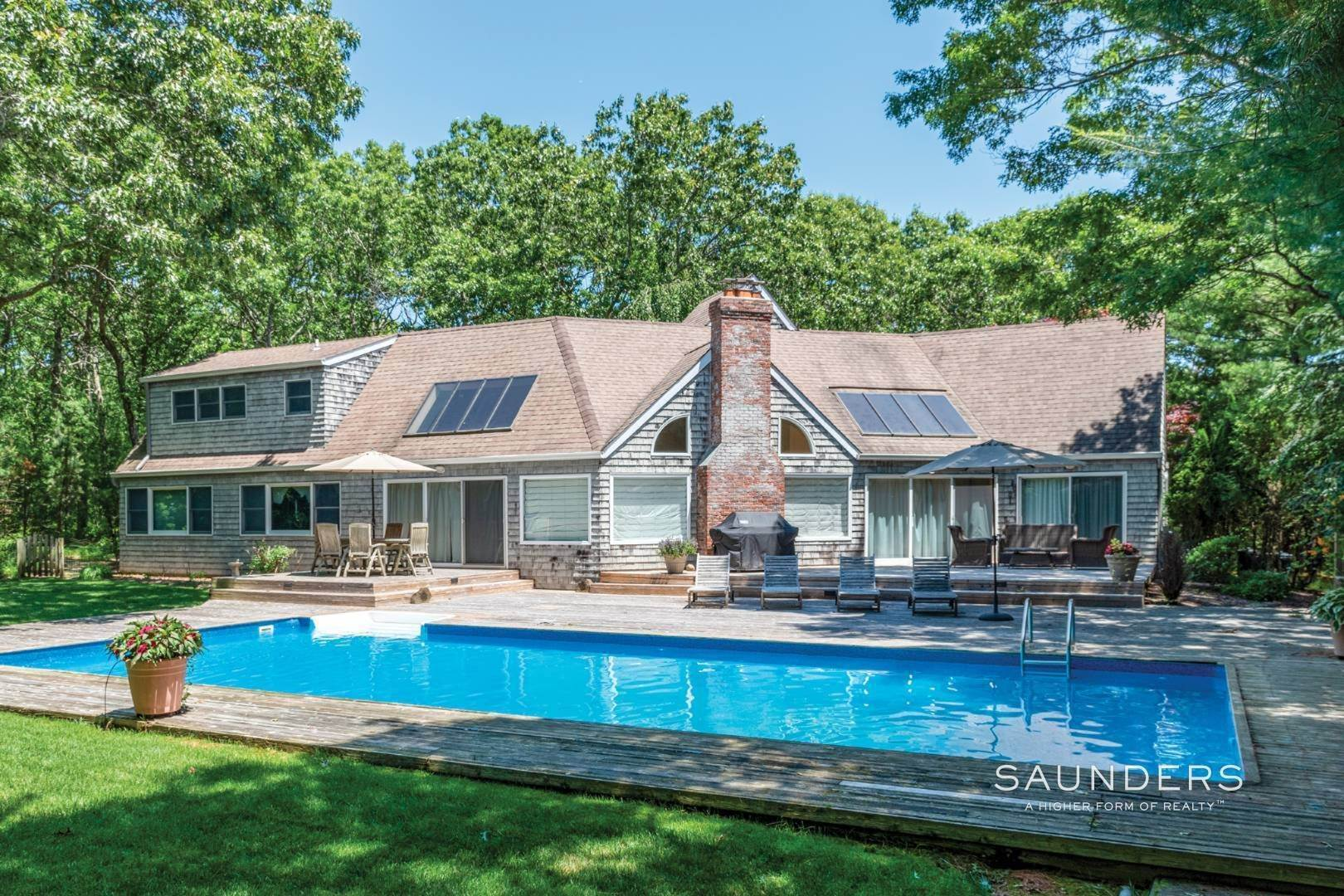 Single Family Homes at Completely Renovated East Hampton Beauty 23 Long Hill Road, East Hampton, East Hampton Town, NY 11937