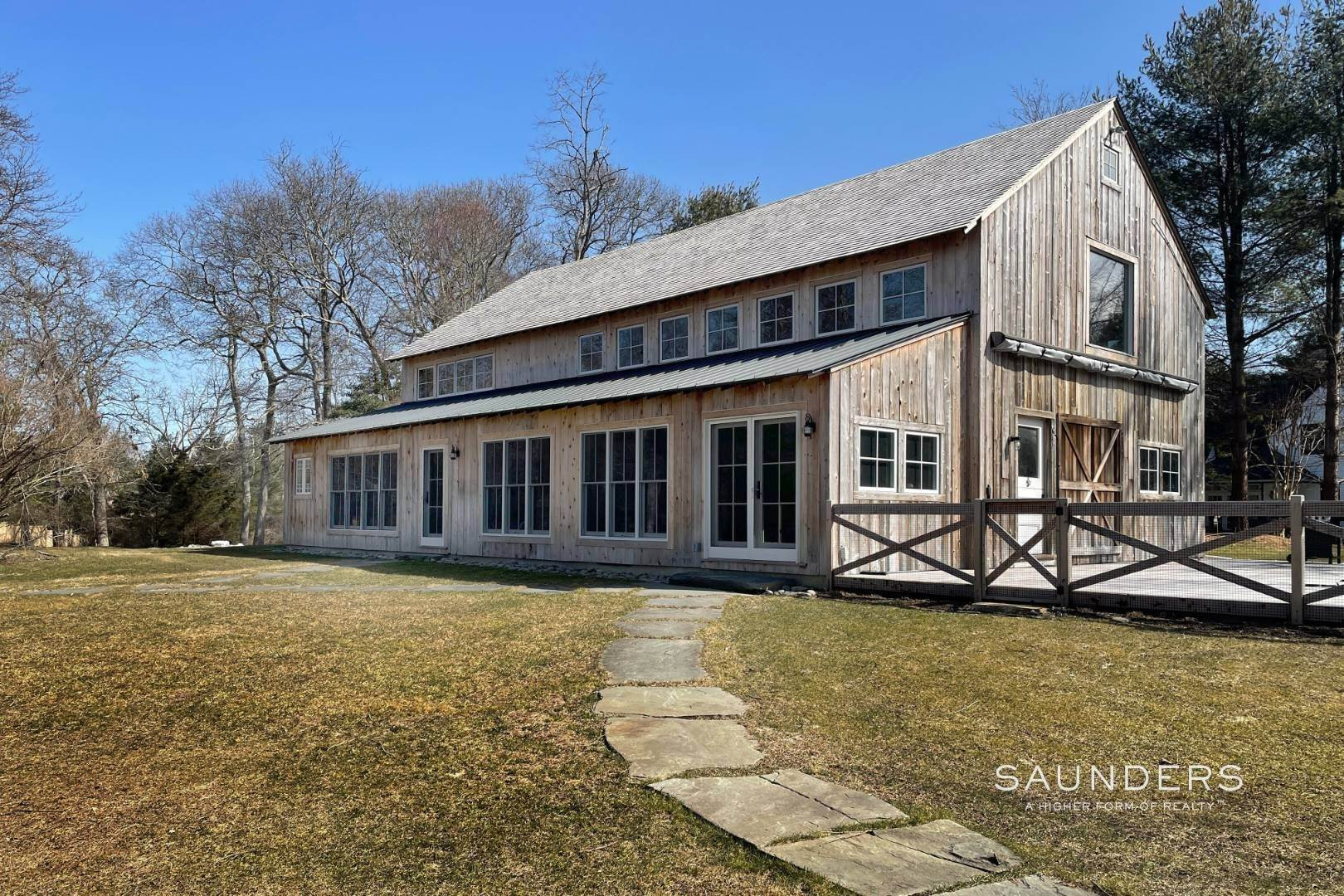 Single Family Homes at Barn With Style Just Renovated Sag Harbor, Southampton Town, NY 11963