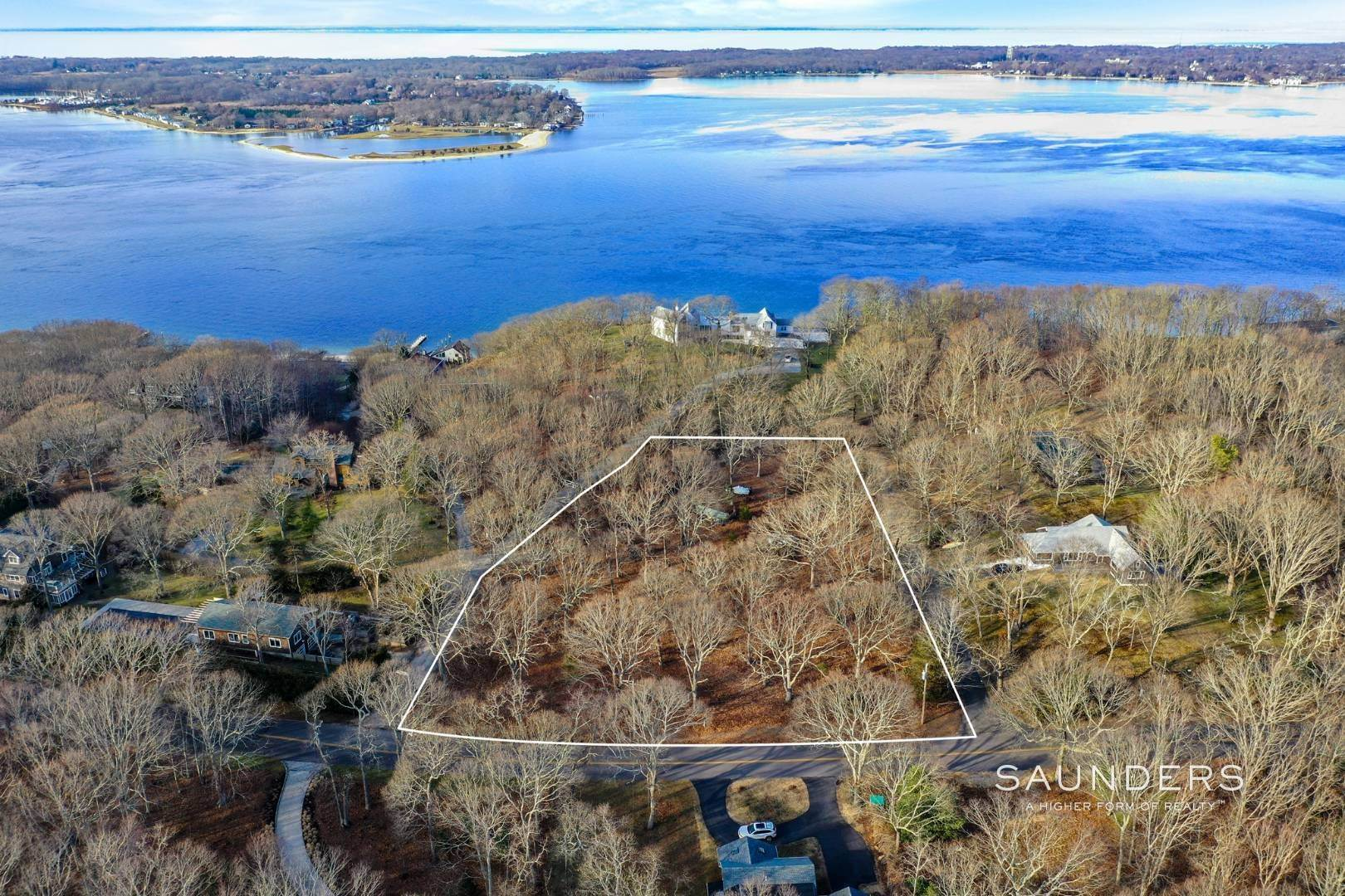 Land for Sale at Shelter Island Acreage Near Sunset Beach 36 Stearns Point Road, Shelter Island Heights, Shelter Island, NY 11965
