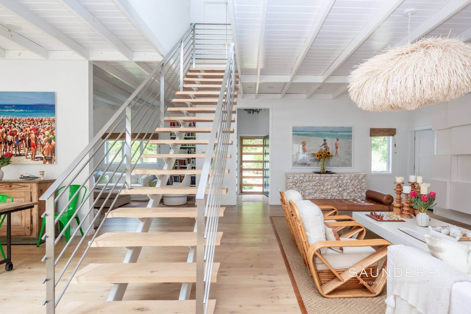 3. Single Family Homes at Chic Amagansett Modern In The Dunes By Ocean 8 Treasure Island Drive, Amagansett, East Hampton Town, NY 11930