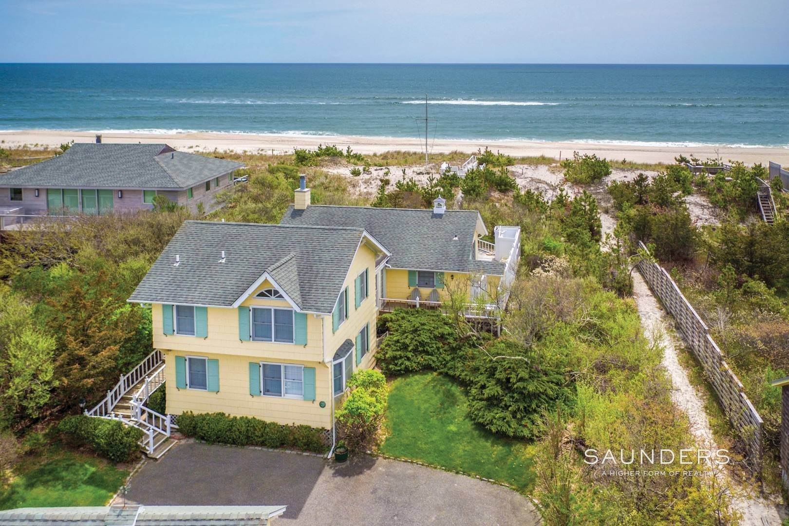 21. Single Family Homes for Sale at The Best Value On The Ocean In Quogue 96 And 98 Dune Road, Quogue Village, Southampton Town, NY 11978