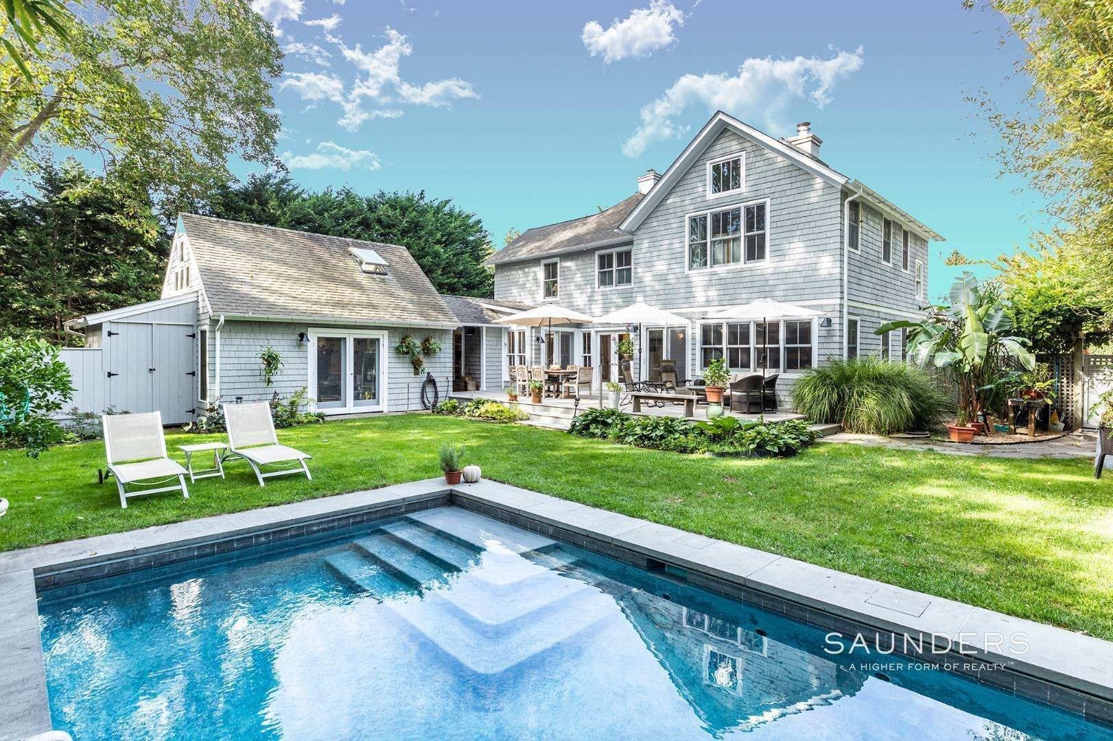 Single Family Homes for Sale at East Hampton Village Jewel 12 Gould Street, East Hampton, East Hampton Town, NY 11937