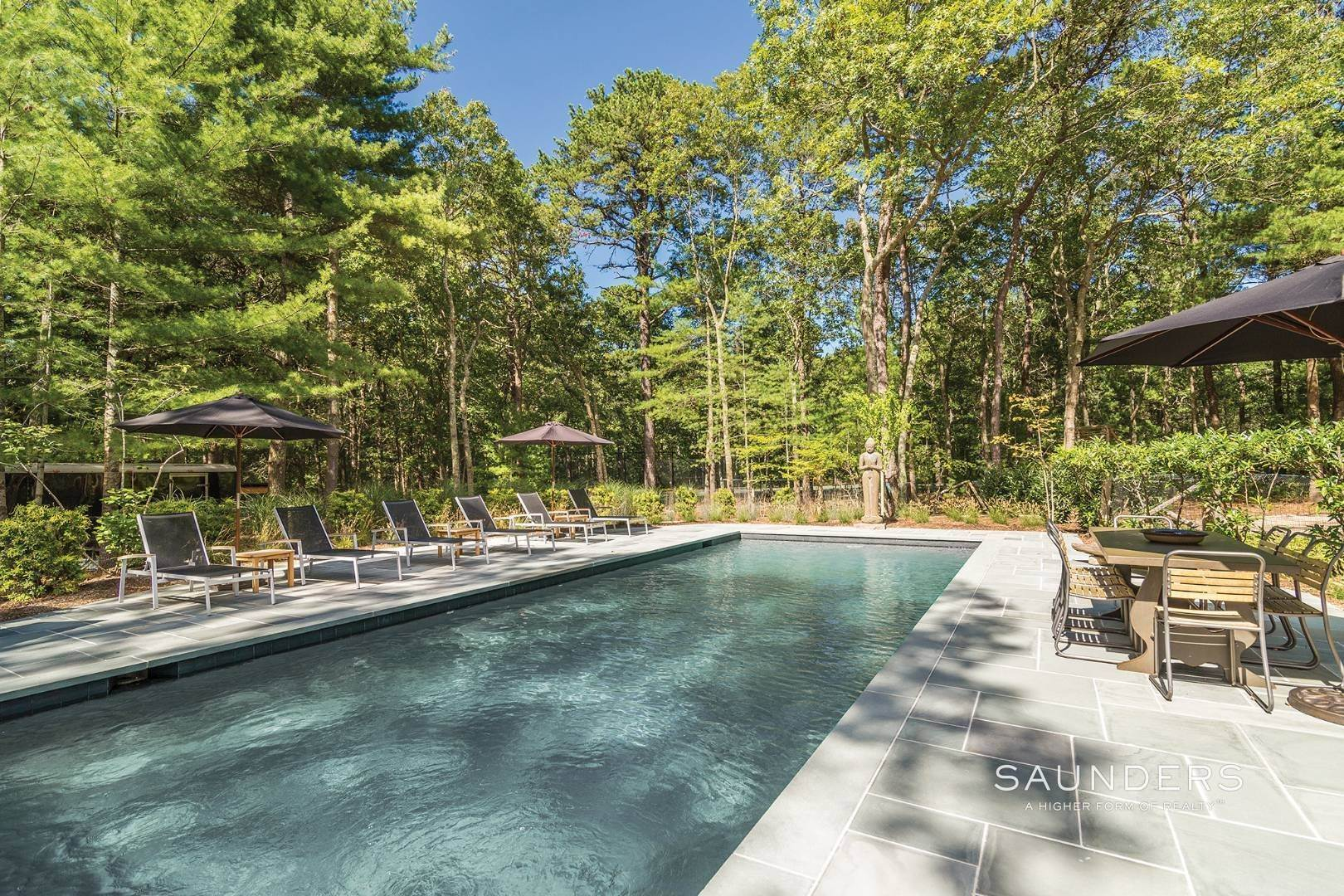 2. Single Family Homes at Retreat With Tennis On Larkin Pond 132 Swamp Road, East Hampton, East Hampton Town, NY 11937