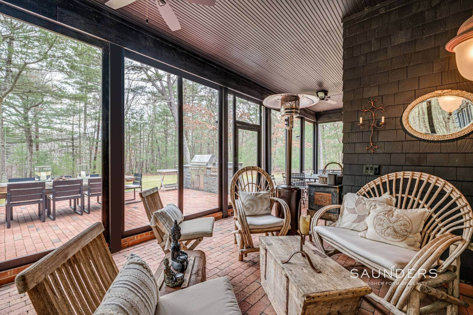 12. Single Family Homes for Sale at Retreat On Larkin Pond 132 Swamp Road, East Hampton, East Hampton Town, NY 11937