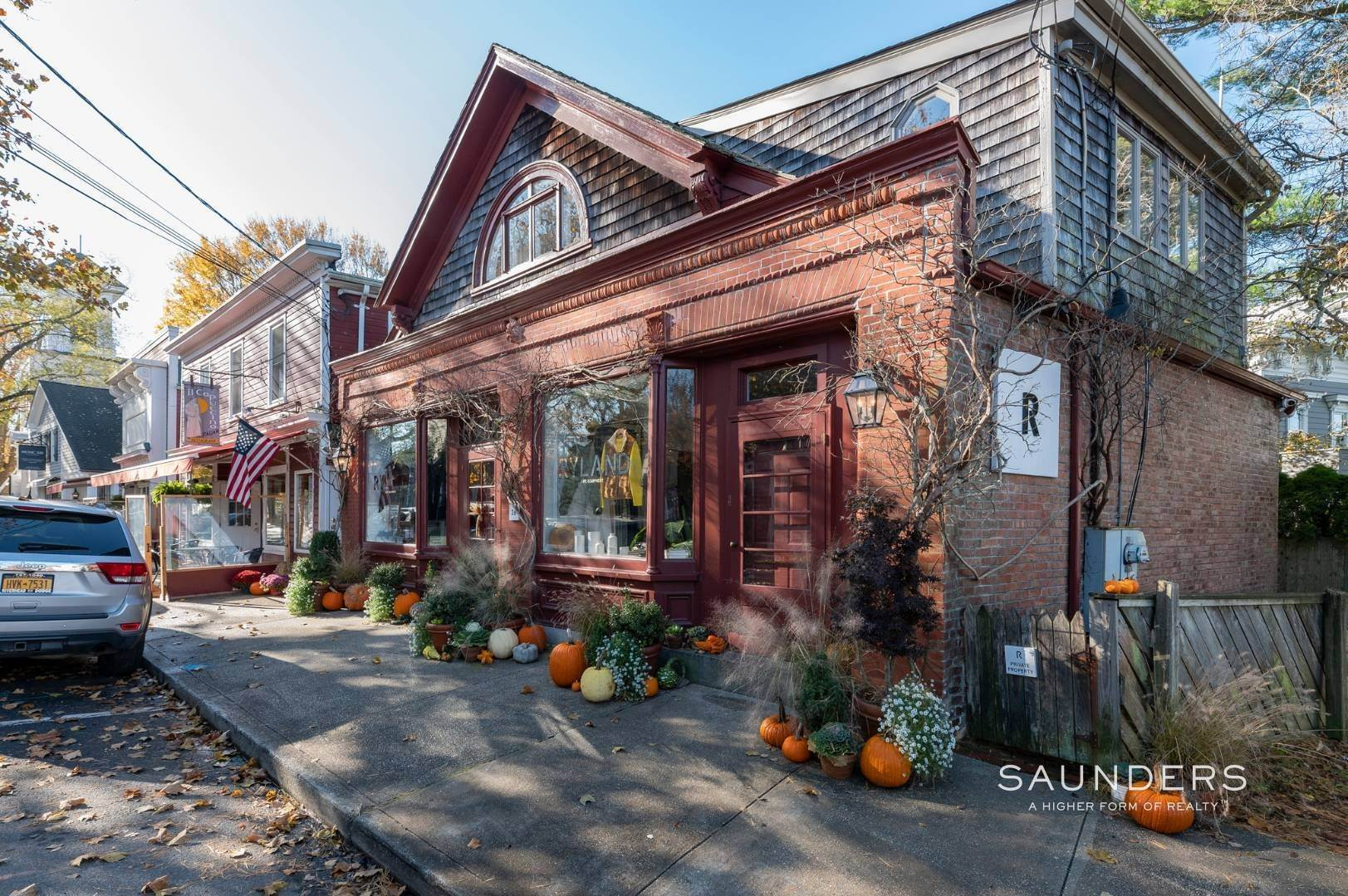 4. Commercial for Sale at Sag Harbor Village Commercial Opportunity 26 Madison Street, Sag Harbor, Southampton Town, NY 11963