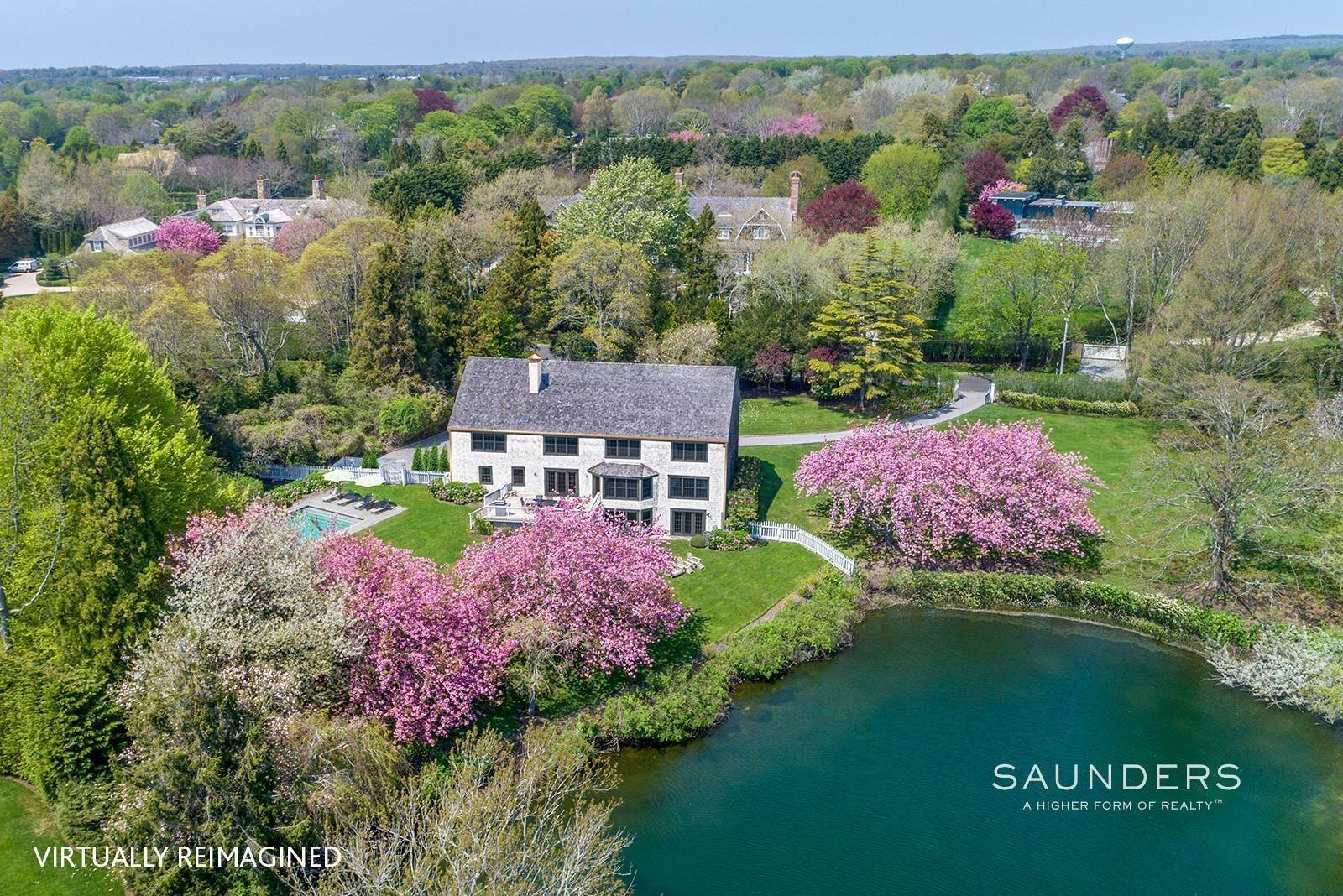 3. Single Family Homes for Sale at Waterfront Home In Southampton Village Estate Section 370 Great Plains Road, Southampton, Southampton Town, NY 11968