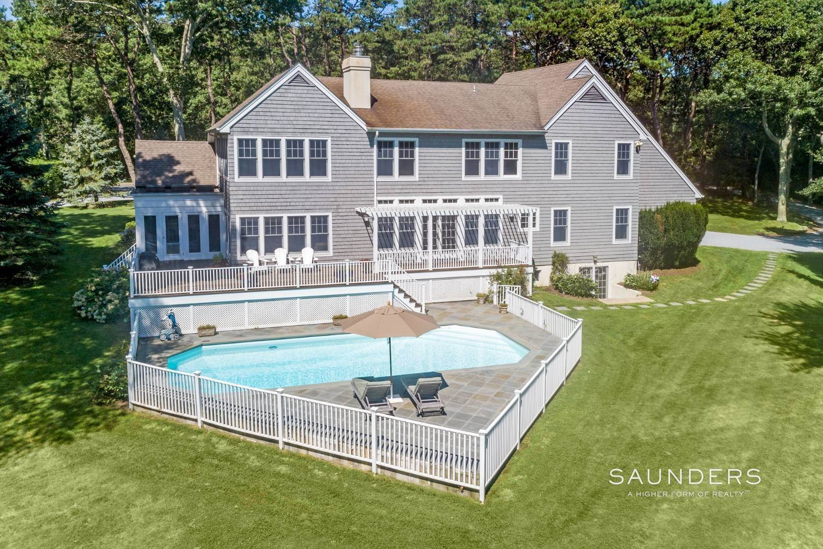 18. Single Family Homes for Sale at Waterfront Compound 403 Head Of Pond Road, Water Mill, Southampton Town, NY 11976