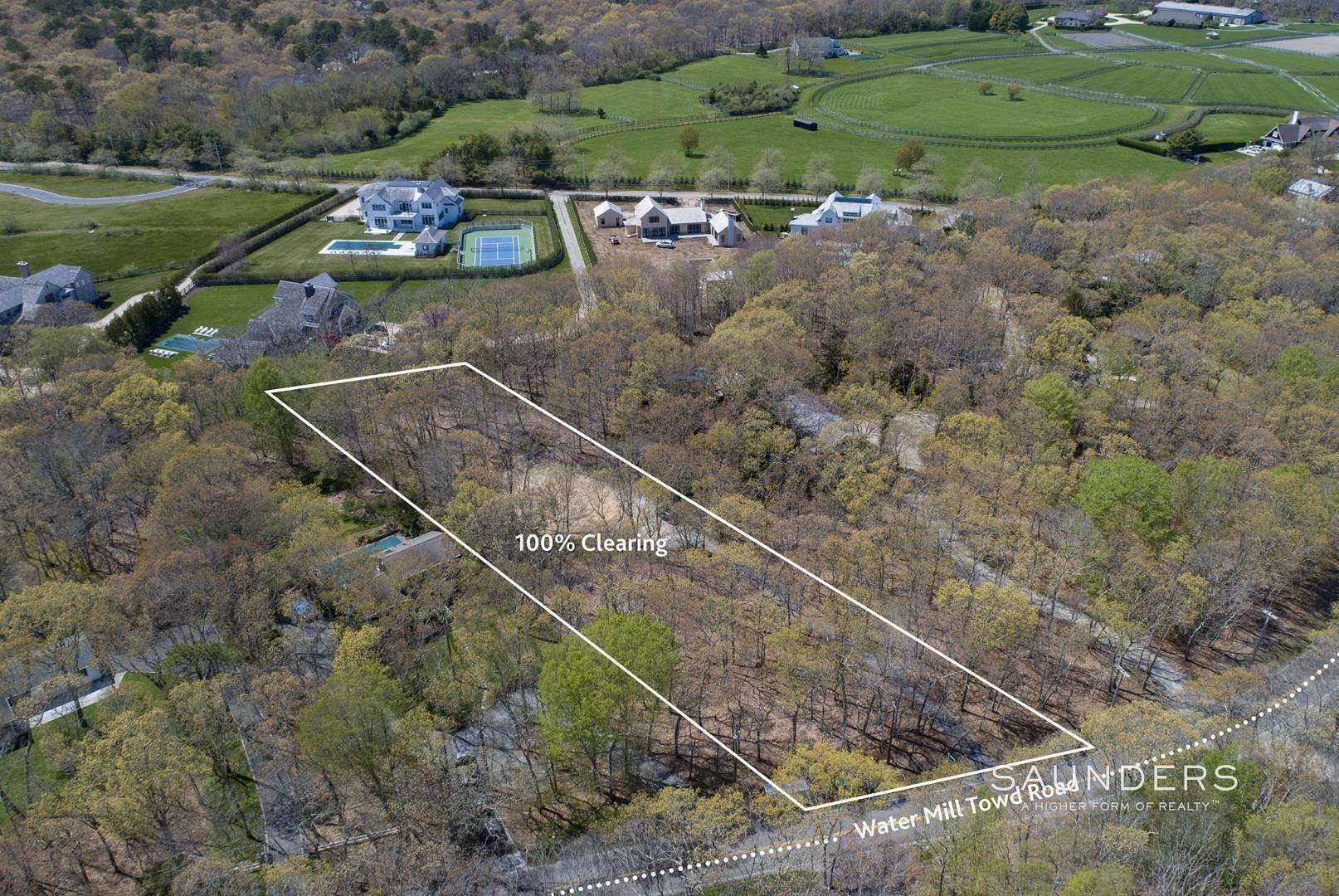Land for Sale at Shy Acre In Water Mill 149 Water Mill Towd Road, Water Mill, Southampton Town, NY 11976