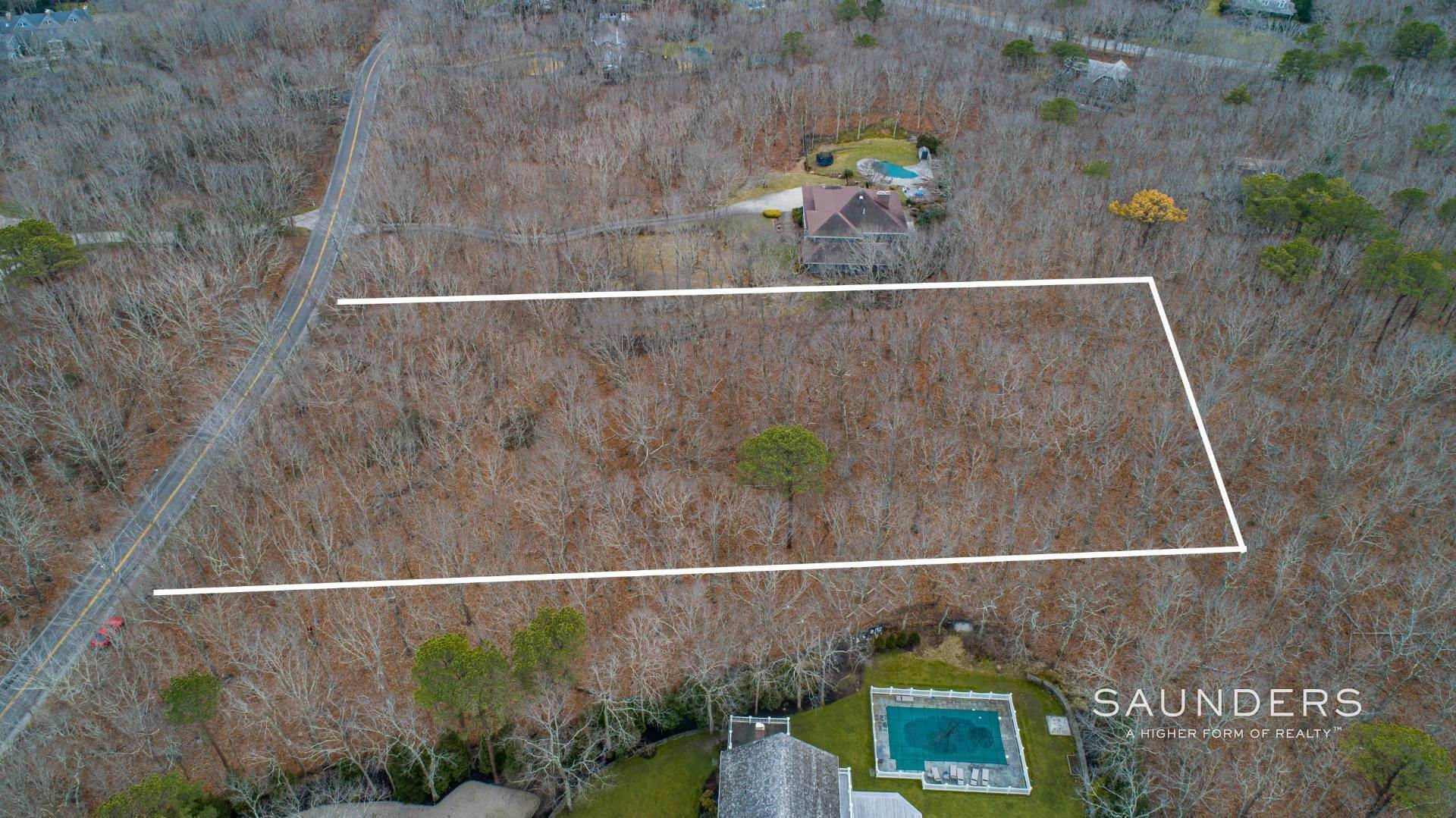 Land at Vacant 2.65 Acre Parcel In Water Mill 1552 Deerfield Road, Water Mill, Southampton Town, NY 11976