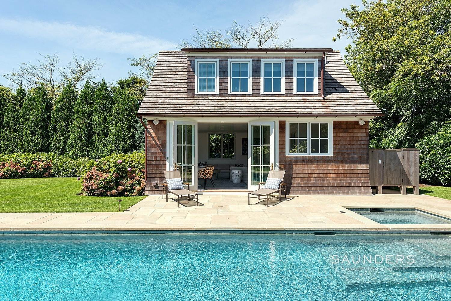 34. Single Family Homes at Dream Come True Rental In Sagaponack 216 Parsonage Lane, Sagaponack Village, Southampton Town, NY 11962