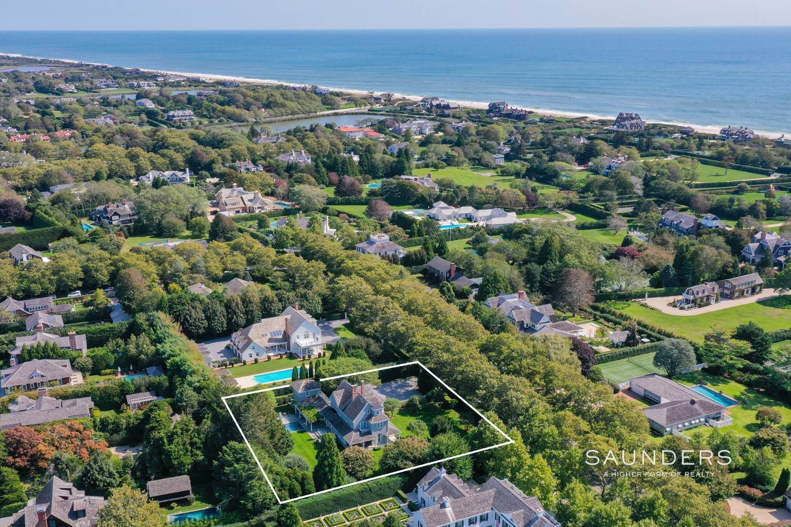 25. Single Family Homes for Sale at Southampton Village A Block To The Beach 33 Christopher Street, Southampton, Southampton Town, NY 11968