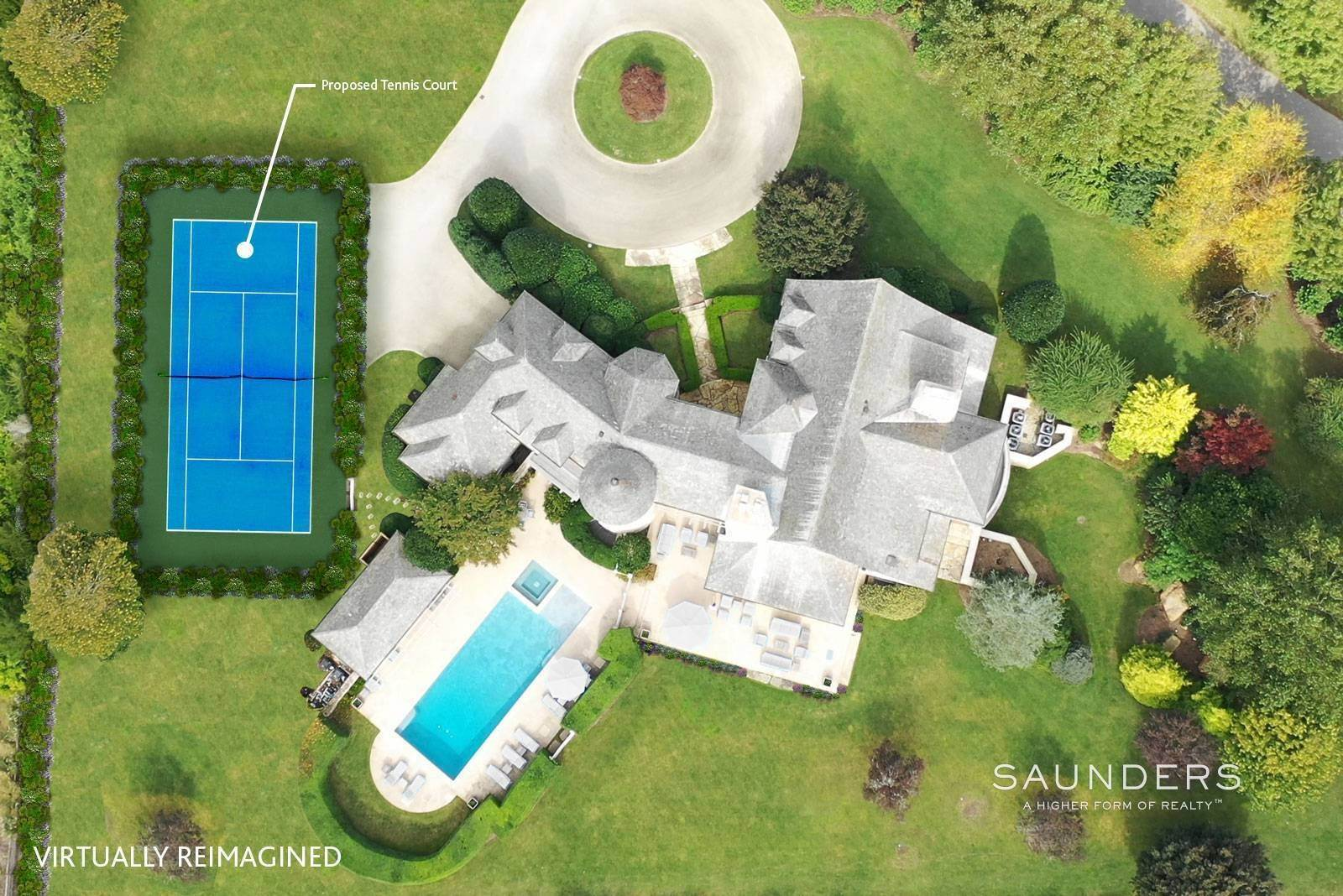 2. Single Family Homes for Sale at Command Your View 6 Dannielles Way, Bridgehampton, Southampton Town, NY 11932