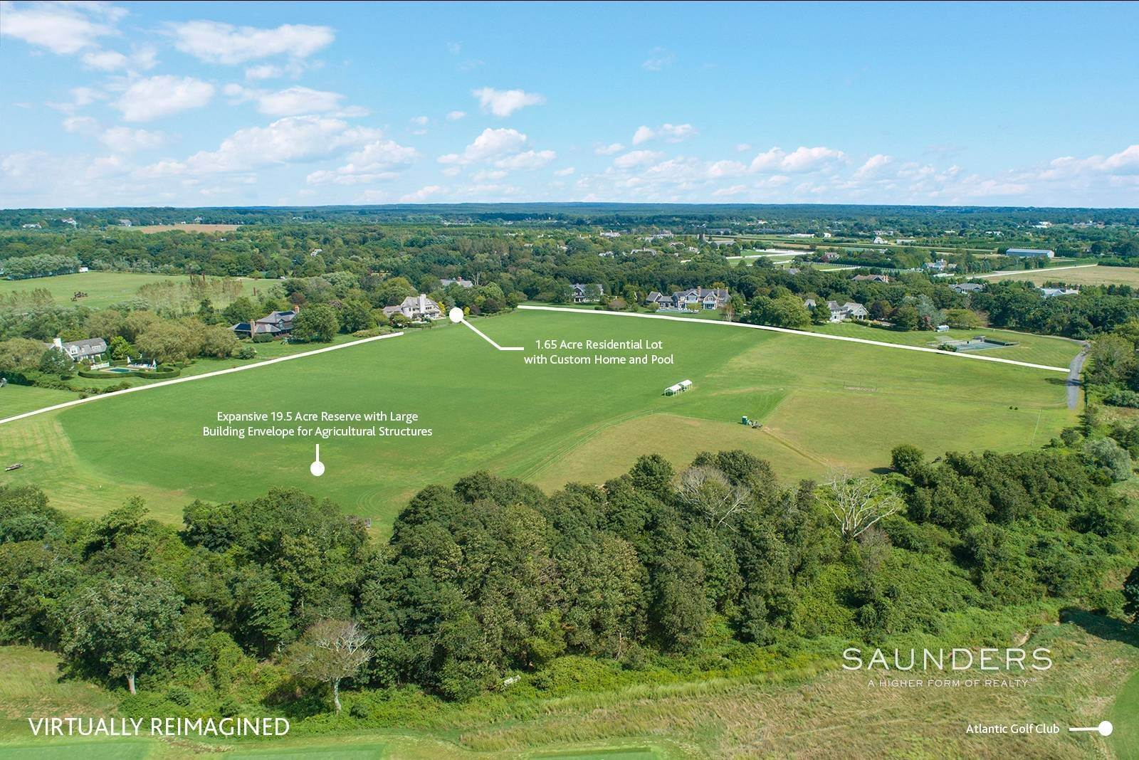 14. Single Family Homes for Sale at Command Your View 6 Dannielles Way, Bridgehampton, Southampton Town, NY 11932