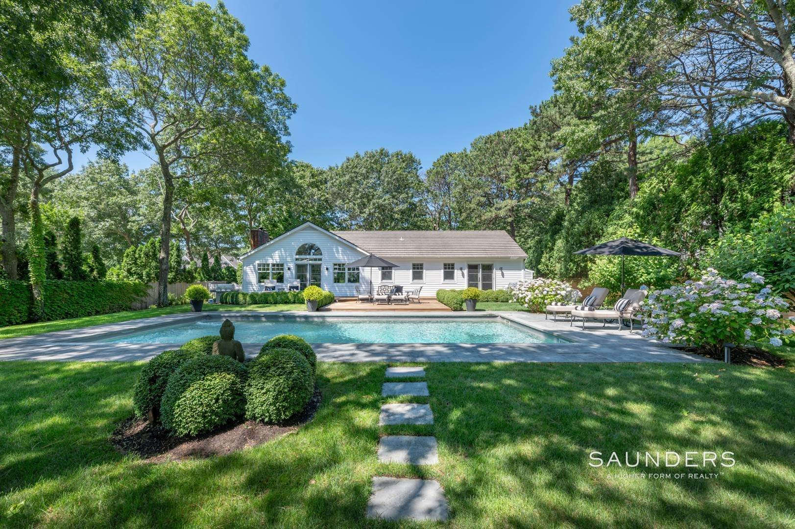 19. Single Family Homes for Sale at Modern Charm In Wainscott 32 East Gate Road, Wainscott, East Hampton Town, NY 11975