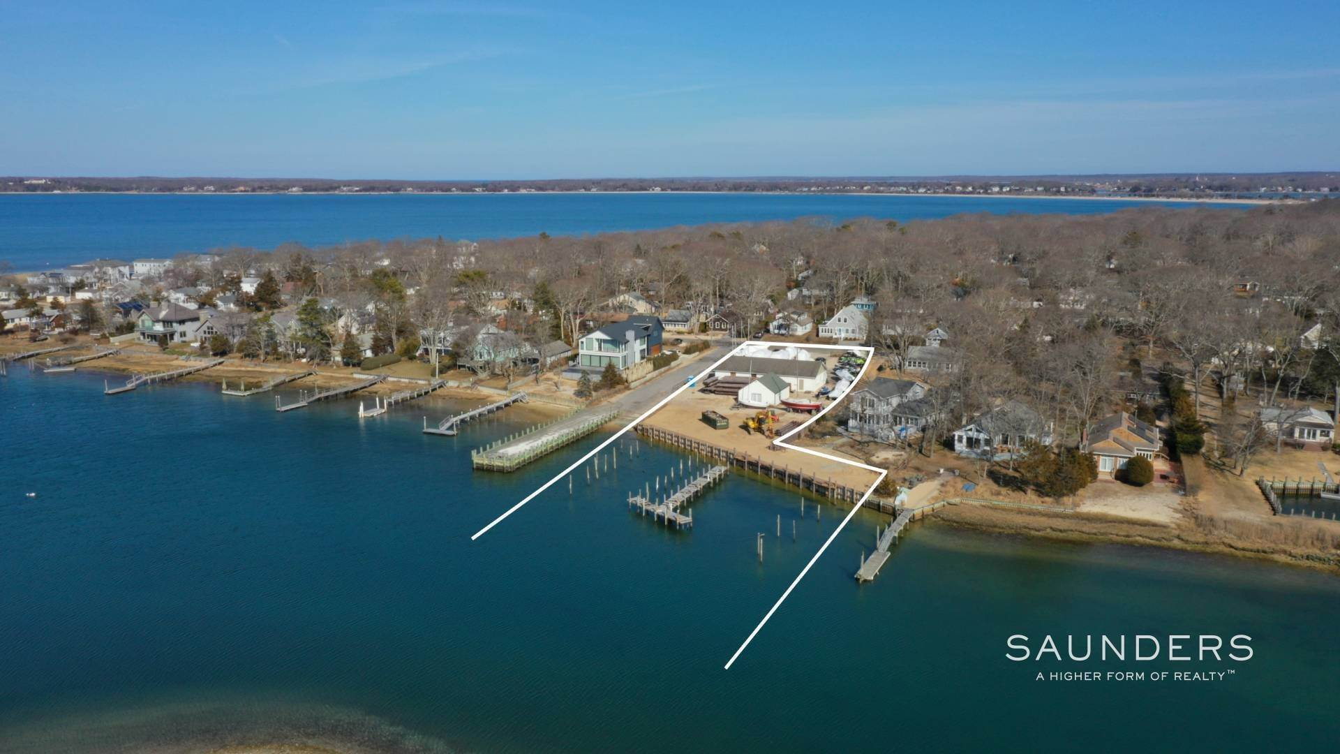 Commercial for Sale at Noyac Marina Sag Harbor, Southampton Town, NY 11963