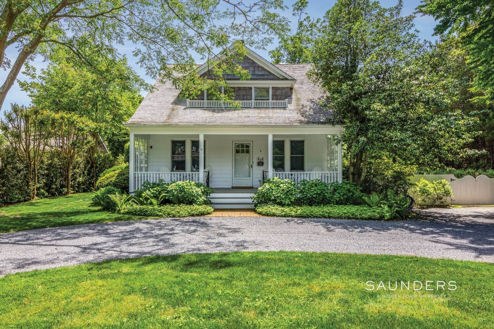 Single Family Homes at On A Tree-Lined Street East Hampton, East Hampton Town, NY 11937