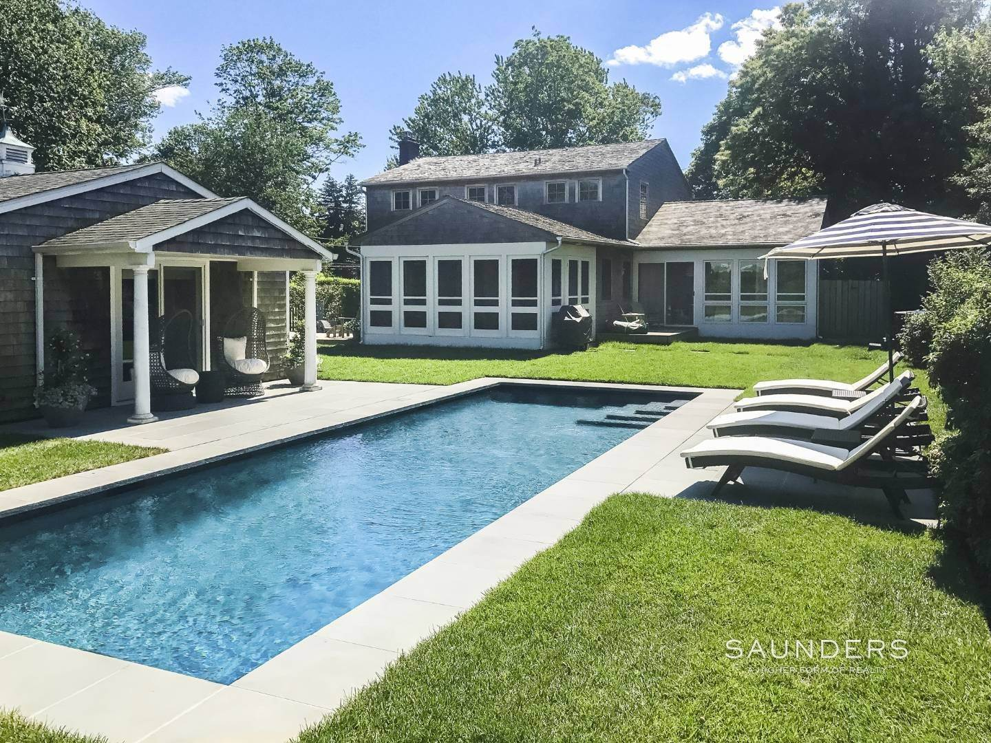 Single Family Homes at Charming Renovation In Southampton Village Southampton, Southampton Town, NY 11968