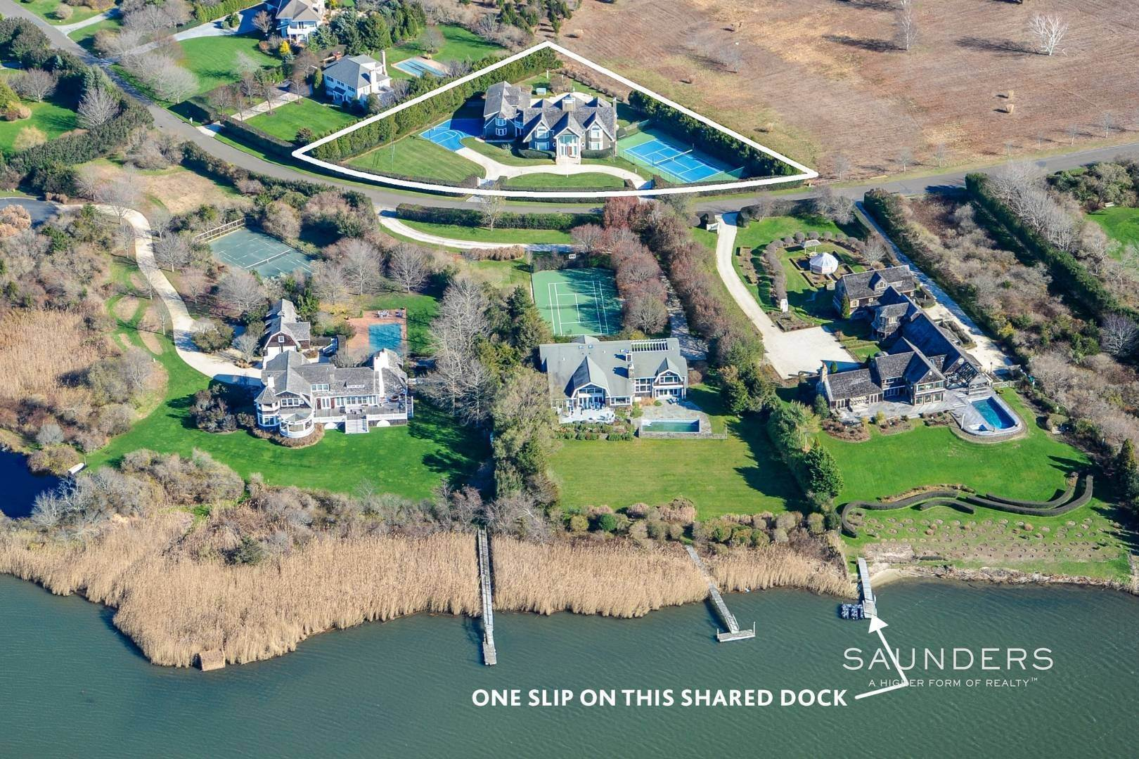 Single Family Homes at Oliver's Cove Compound 145 Oliver's Cove Lane, Water Mill, Southampton Town, NY 11976