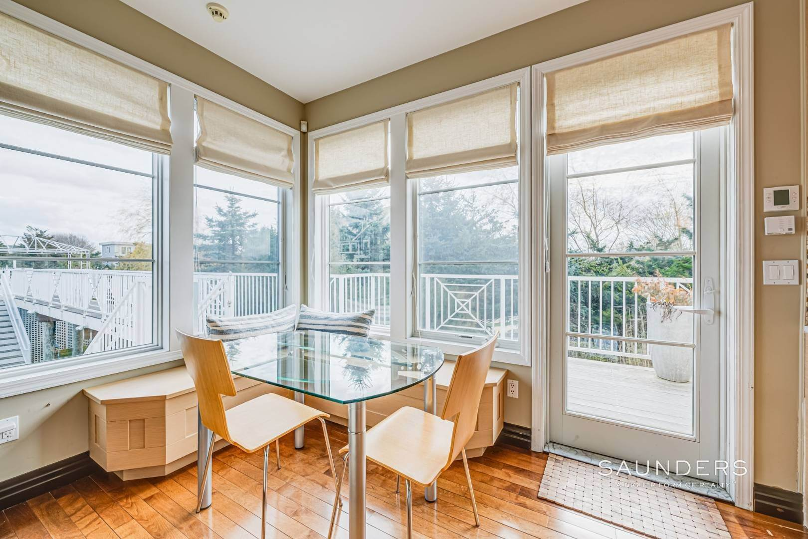16. Single Family Homes for Sale at Celebrate Nature's Beauty: Sunsets, Water Views, Pool & Dock 5 Bay Meadow Lane, Westhampton, Southampton Town, NY 11977