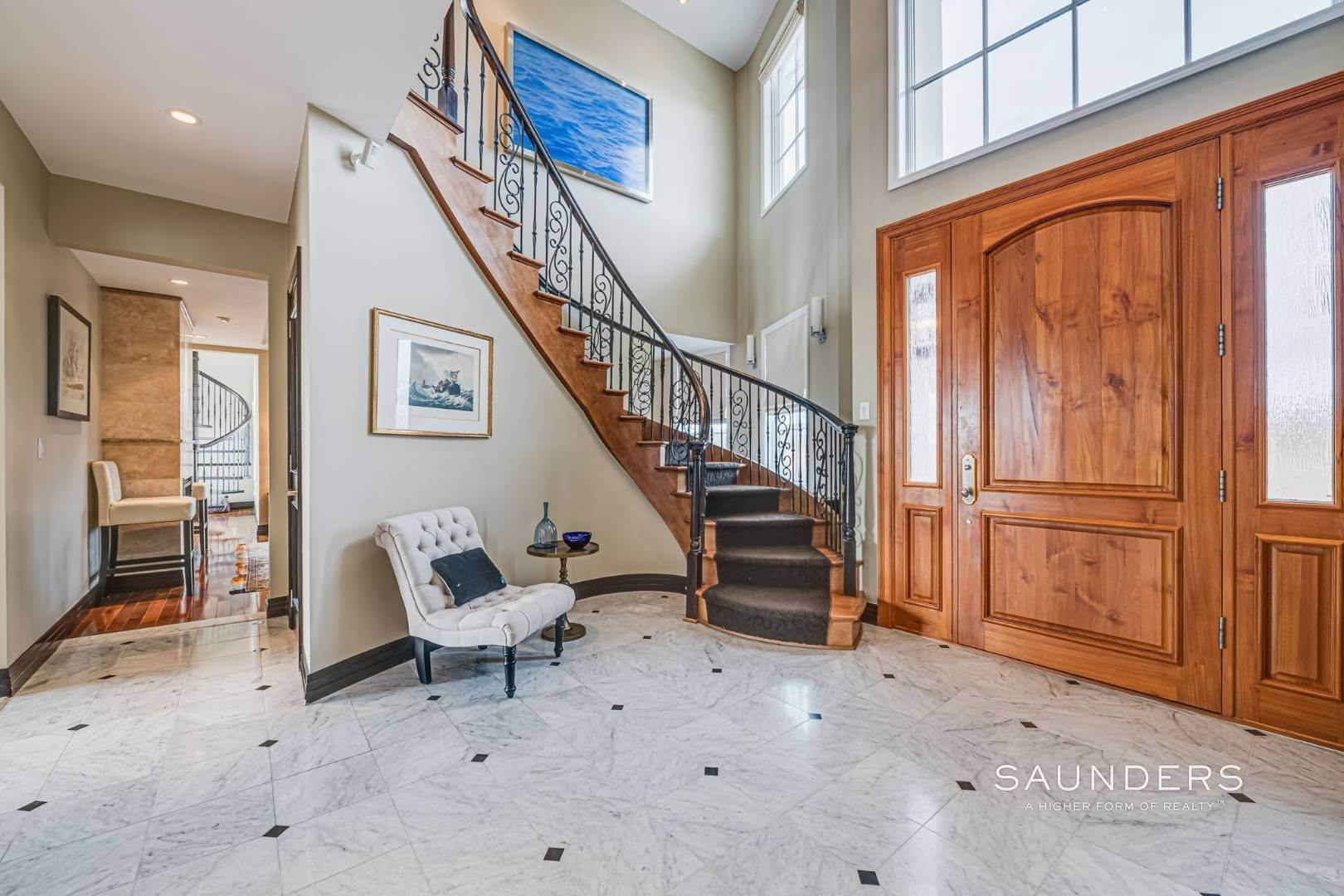 9. Single Family Homes for Sale at Celebrate Nature's Beauty: Sunsets, Water Views, Pool & Dock 5 Bay Meadow Lane, Westhampton, Southampton Town, NY 11977