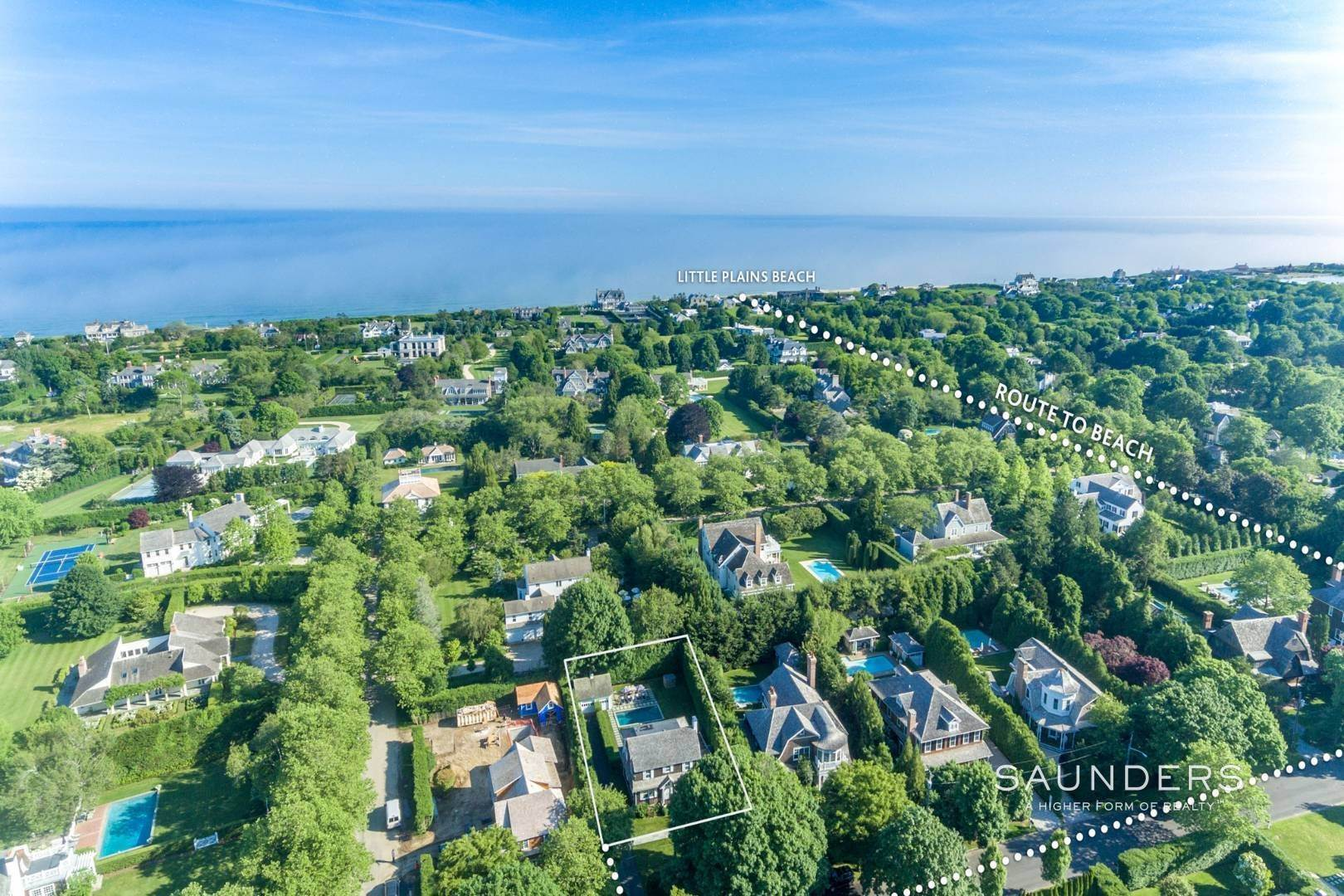Single Family Homes for Sale at Southampton Village South Near Ocean 66 Huntting Street, Southampton, Southampton Town, NY 11968