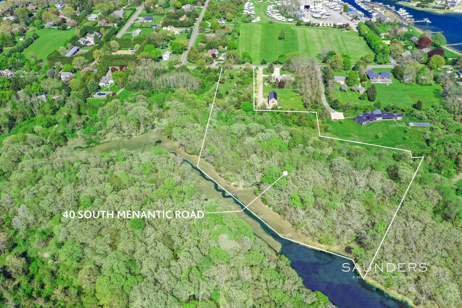 Land for Sale at Shelter Island Waterfront With Unadulterated Beauty 40 South Menantic Road, Shelter Island Heights, Shelter Island, NY 11964