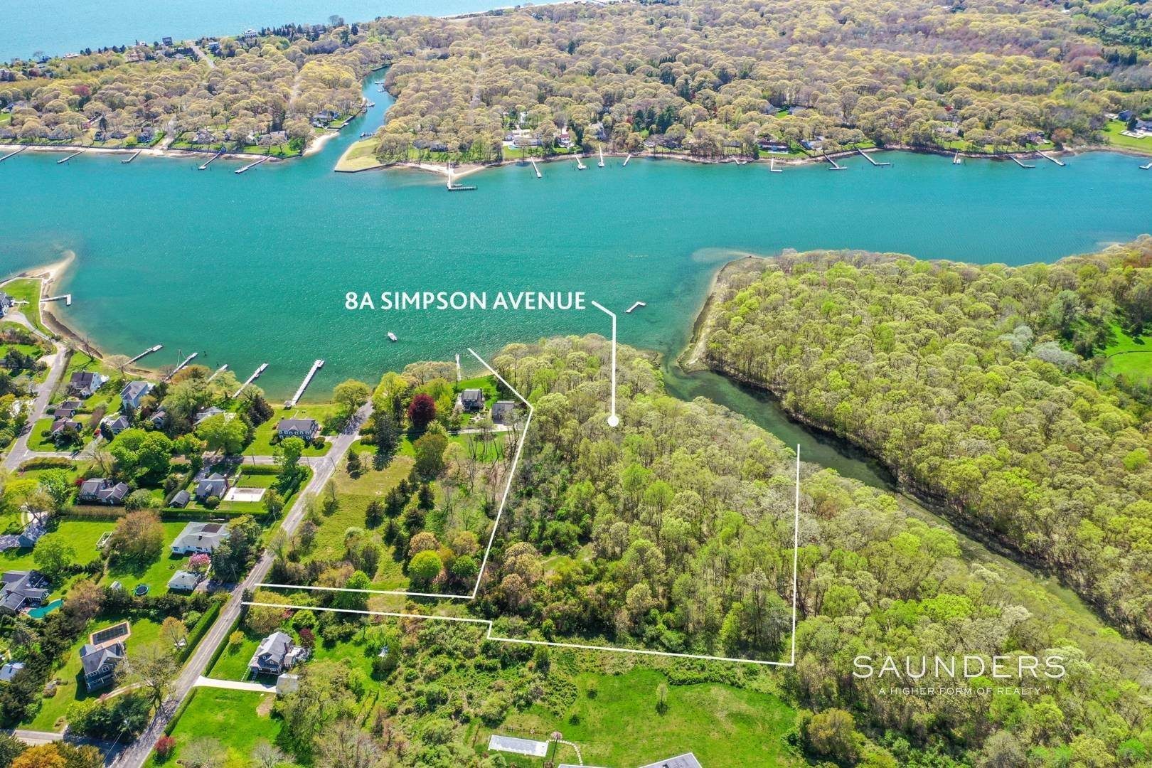 Land at 5+ Acres Pristine Sunset Harborfront On Shelter Island 8A Simpson Avenue, Shelter Island Heights, Shelter Island, NY 11964