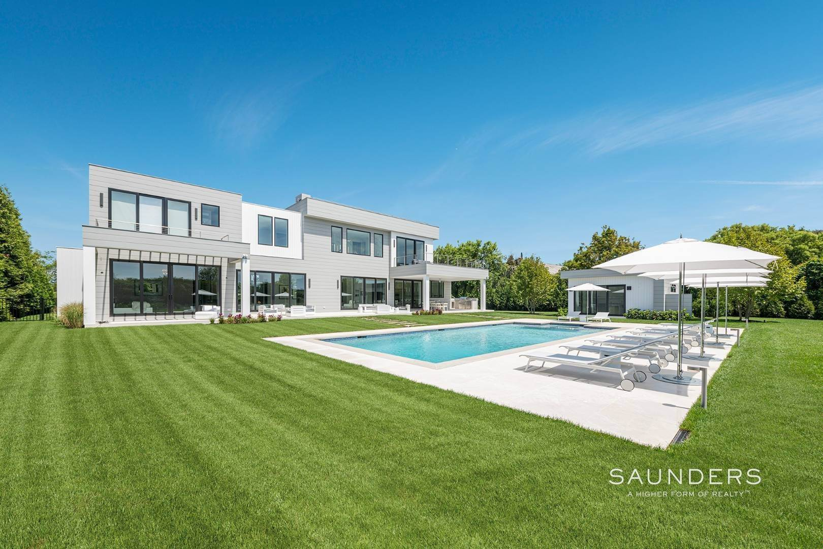 Single Family Homes for Sale at New Ultramodern With Ocean Views And Very Close To The Beach Bridgehampton, Southampton Town, NY 11932