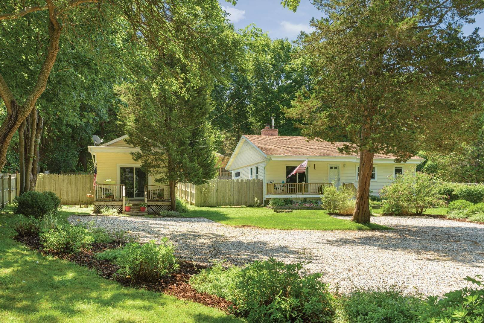 Single Family Homes for Sale at 4 Bedroom 2 Bath Home With Separate Legal 1 Bedroom Cottage 2996 Noyack Road, Sag Harbor, Southampton Town, NY 11963