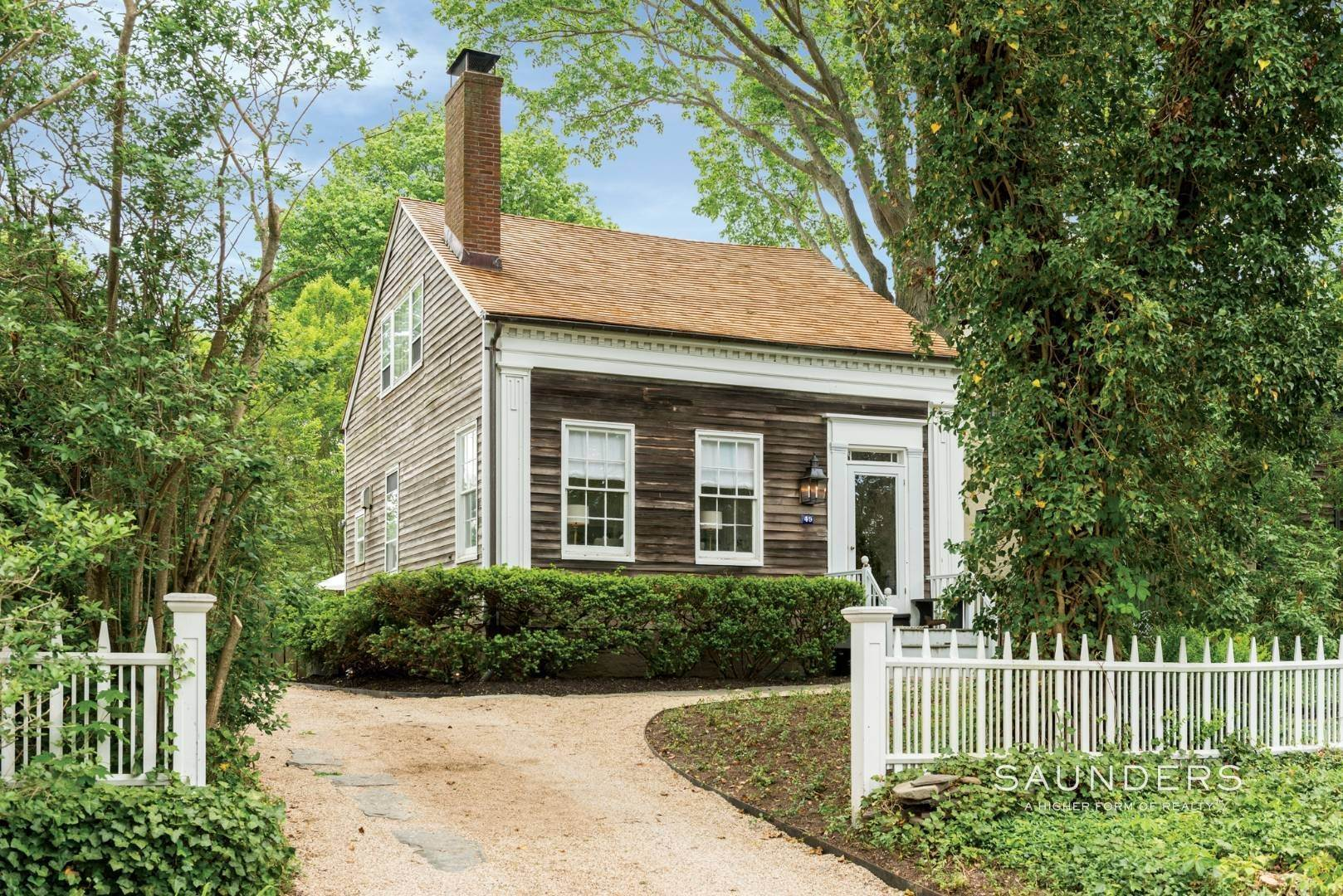 Single Family Homes for Sale at Sag Harbor Village Historic Renovation With Pool And Cottage 49 Rysam Street, Sag Harbor, Southampton Town, NY 11963