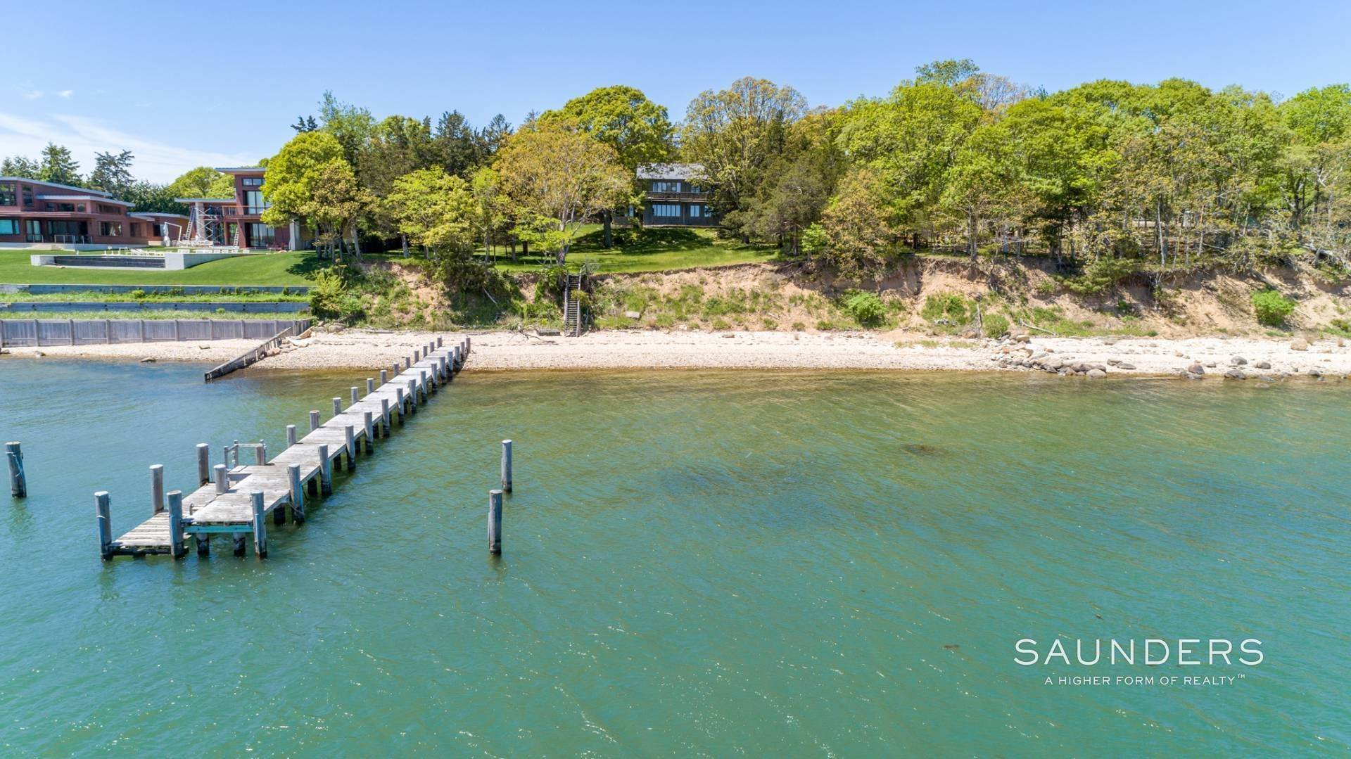11. Single Family Homes for Sale at 1.3 Waterfront Acres With Dock And Approved Site Plan 20 Forest Road, Sag Harbor, Southampton Town, NY 11963