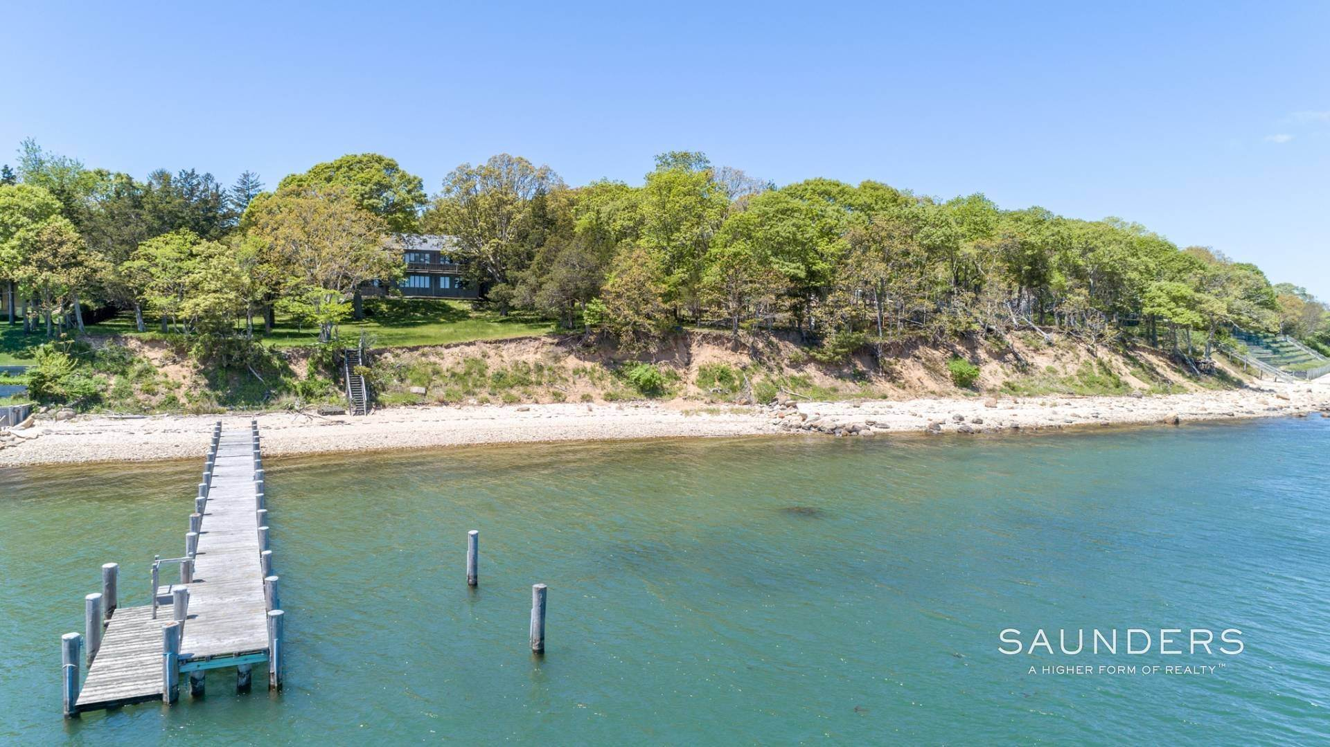 3. Single Family Homes for Sale at 1.3 Waterfront Acres With Dock And Approved Site Plan 20 Forest Road, Sag Harbor, Southampton Town, NY 11963
