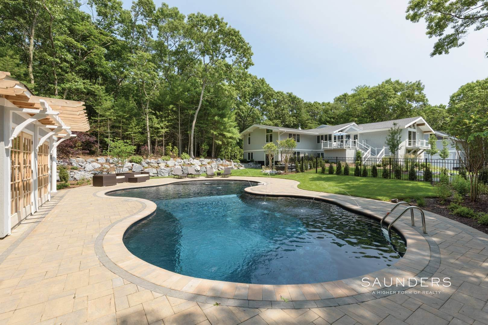 Single Family Homes for Sale at Newly Renovated Bright Contemporary Checks All Boxes 60 Old Northwest Road, East Hampton, East Hampton Town, NY 11937