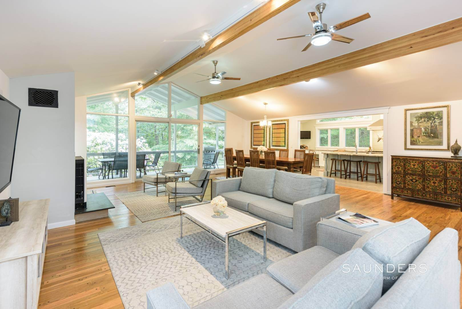 3. Single Family Homes for Sale at Newly Renovated Bright Contemporary Checks All Boxes 60 Old Northwest Road, East Hampton, East Hampton Town, NY 11937