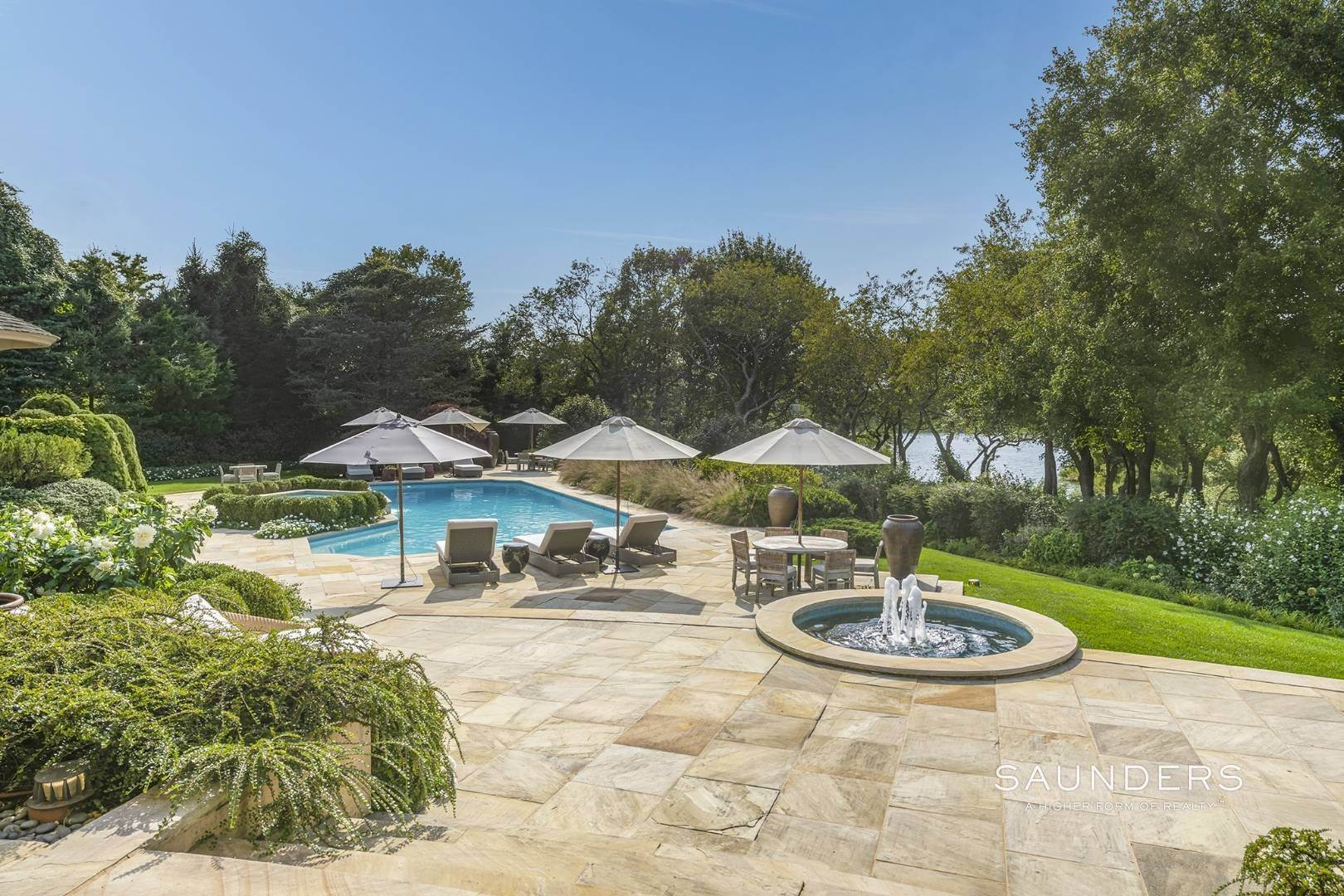 Single Family Homes for Sale at Secluded Waterfront Estate In Bridgehampton 164 Trelawney Road, Bridgehampton, Southampton Town, NY 11932