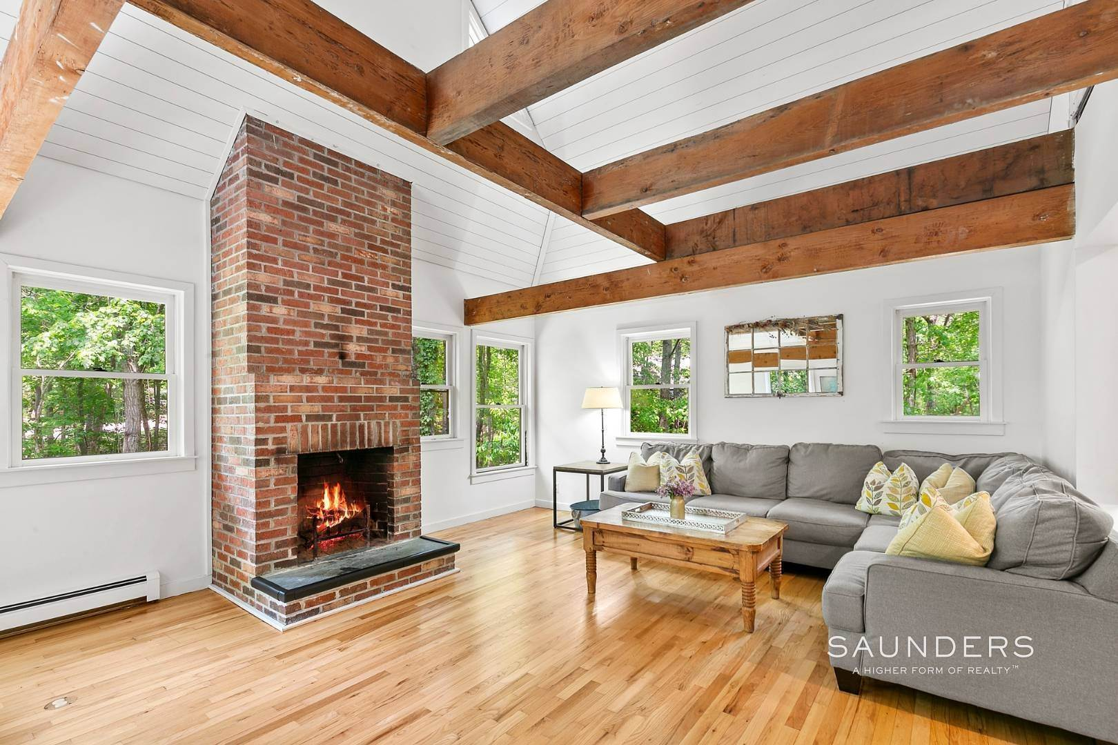 2. Single Family Homes for Sale at Post And Beam Beauty Southampton, Southampton Town, NY 11968