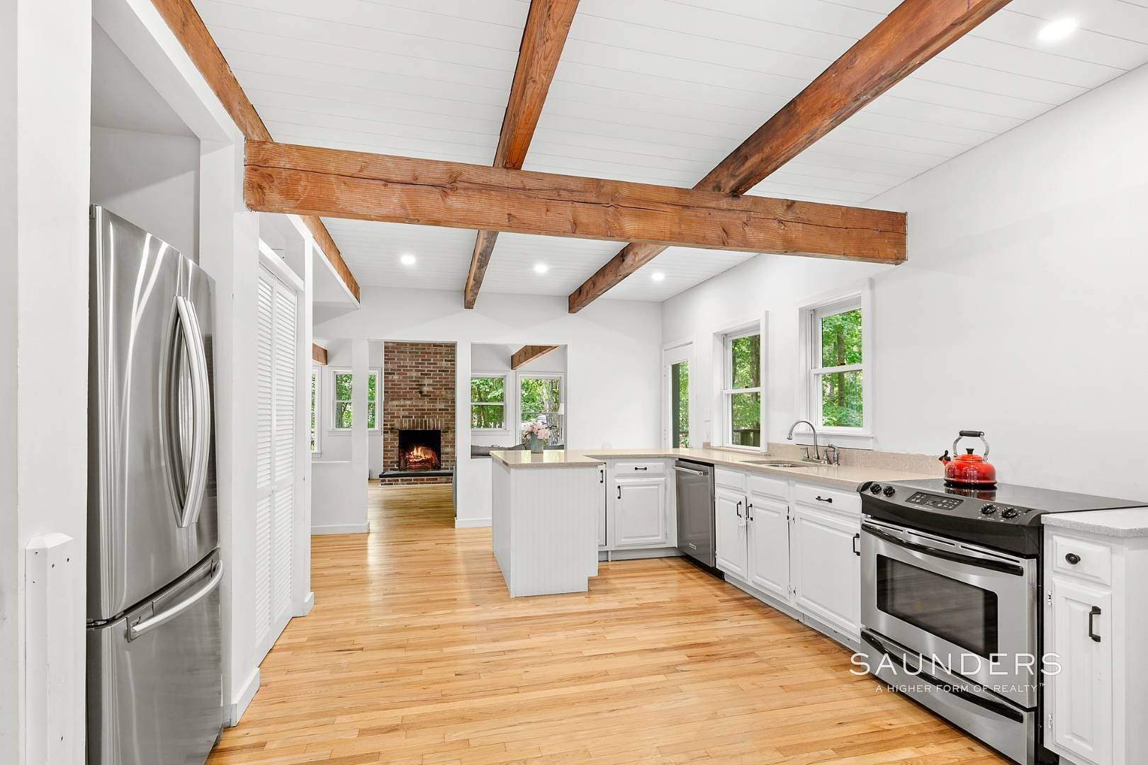 Single Family Homes for Sale at Post And Beam Beauty Southampton, Southampton Town, NY 11968